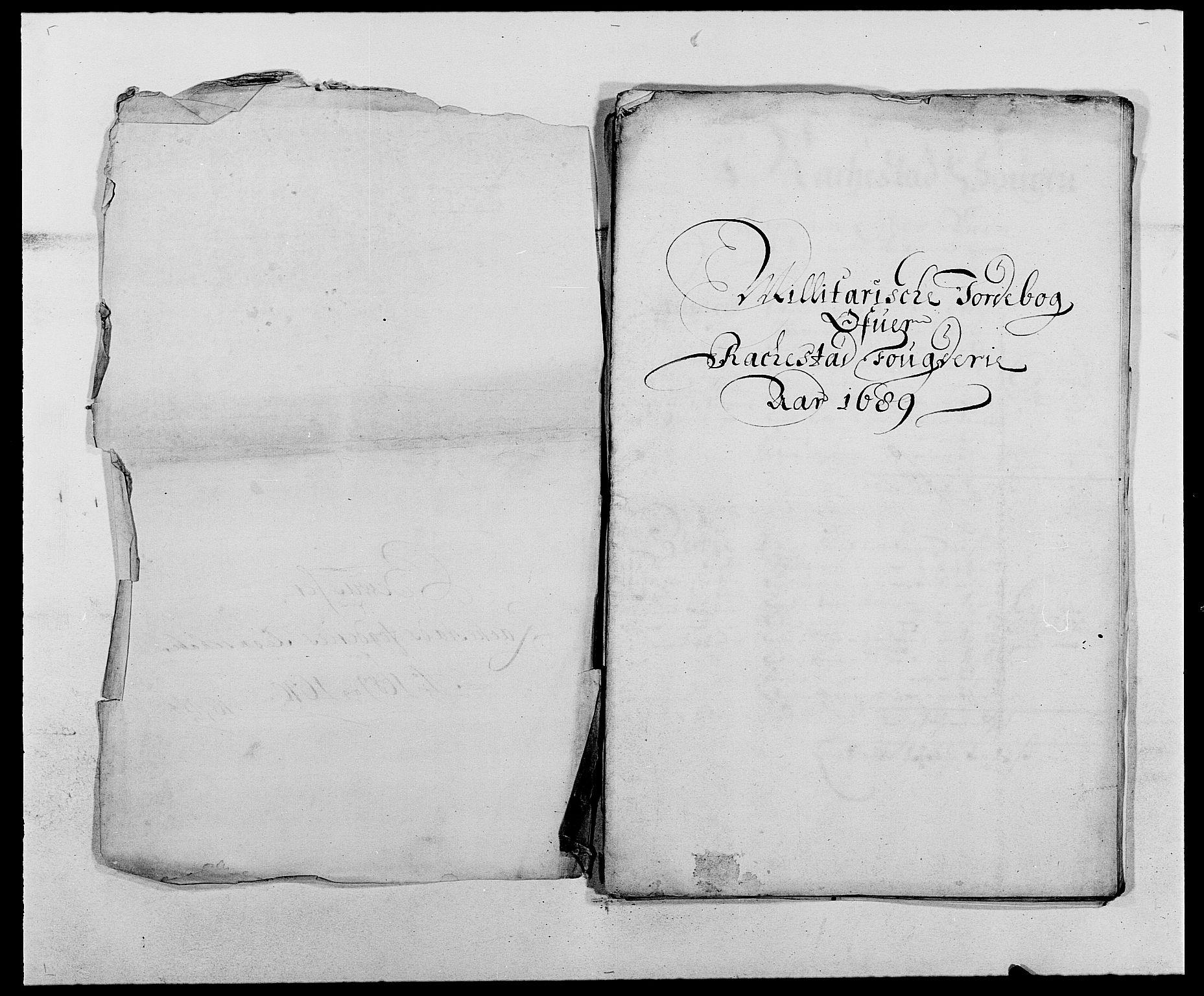 RA, Rentekammeret inntil 1814, Reviderte regnskaper, Fogderegnskap, R05/L0277: Fogderegnskap Rakkestad, 1689-1690, s. 320
