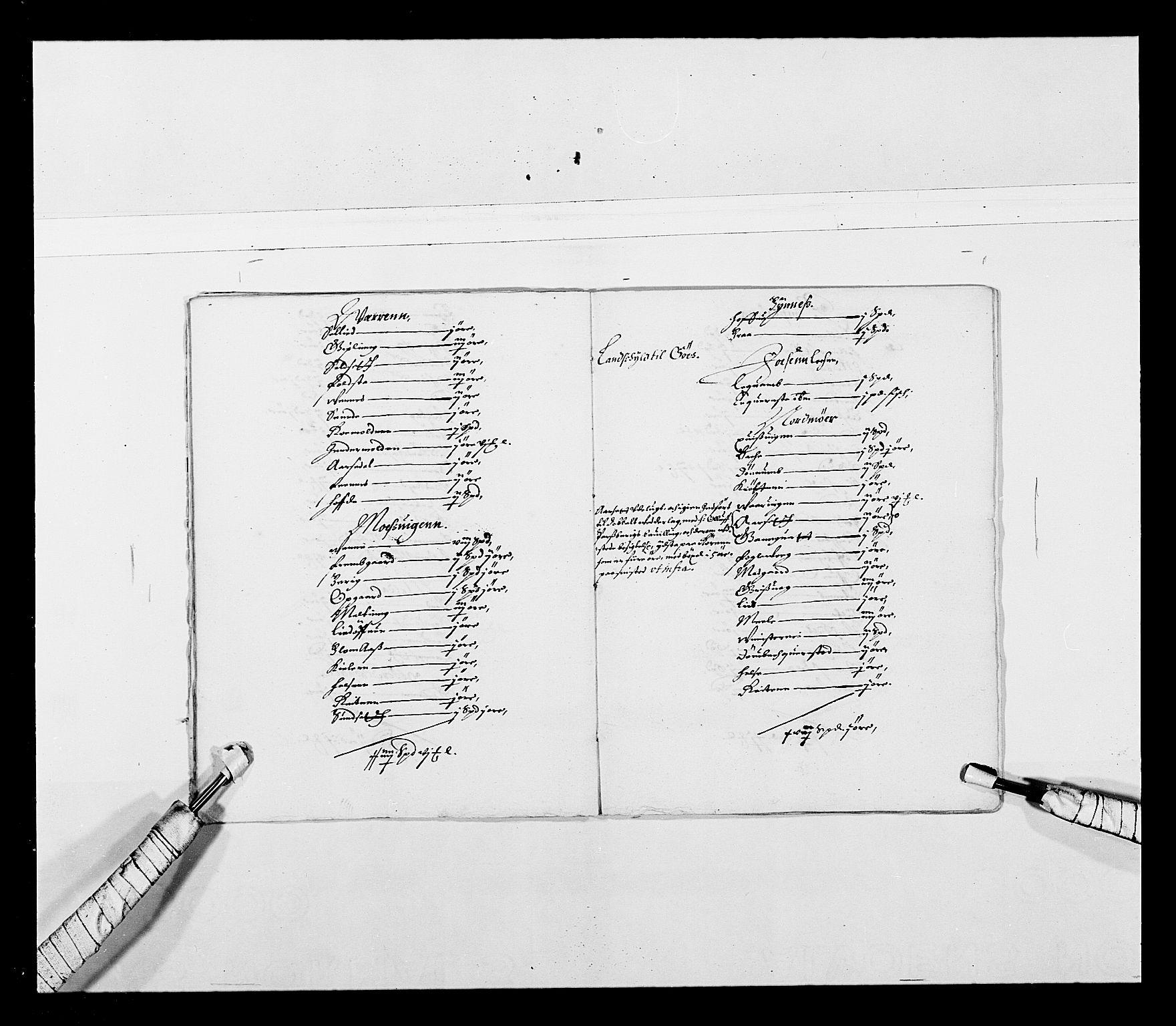 RA, Stattholderembetet 1572-1771, Ek/L0027: Jordebøker 1633-1658:, 1644-1645, s. 43