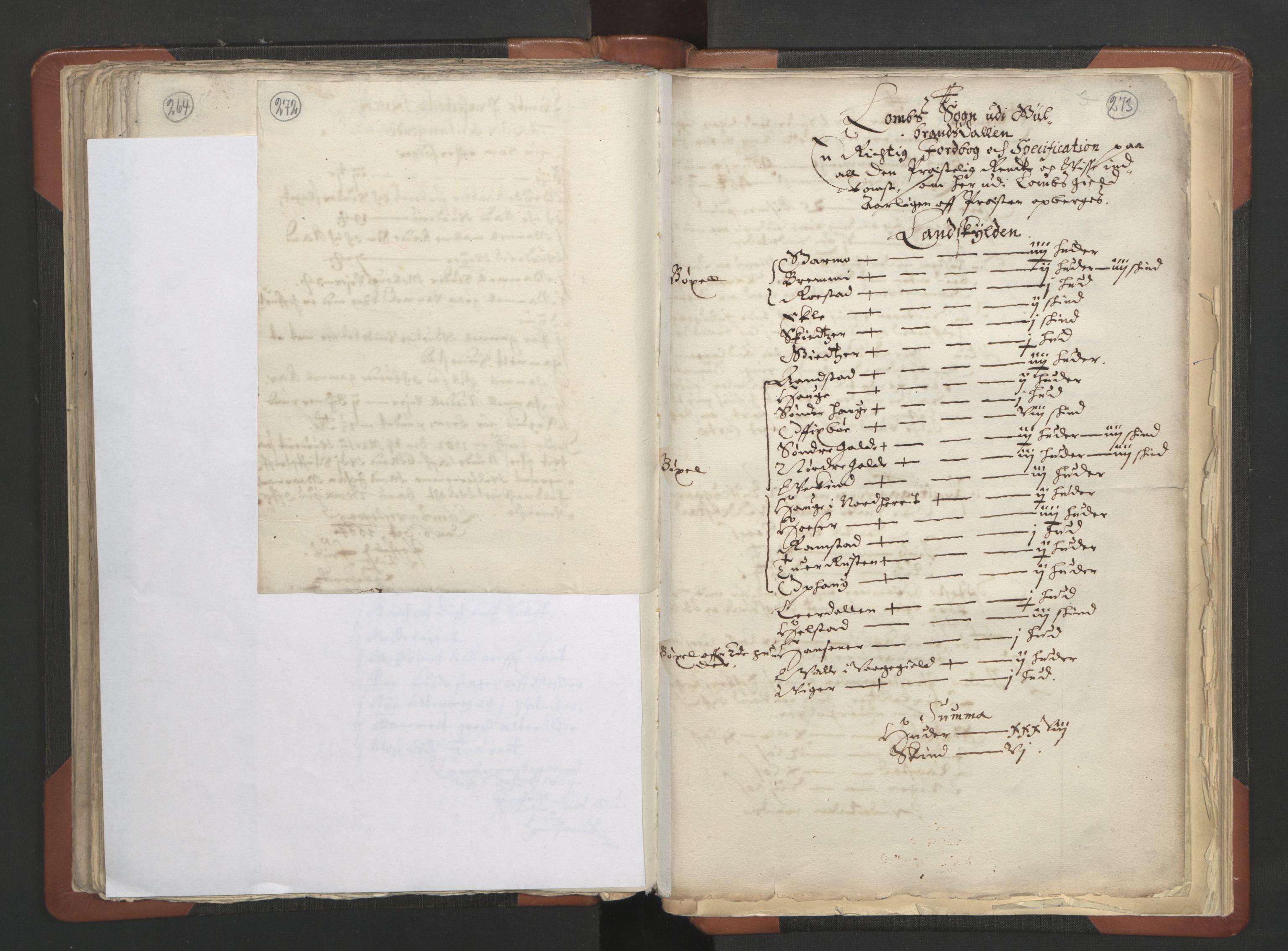 RA, Sogneprestenes manntall 1664-1666, nr. 6: Gudbrandsdal prosti, 1664-1666, s. 272-273
