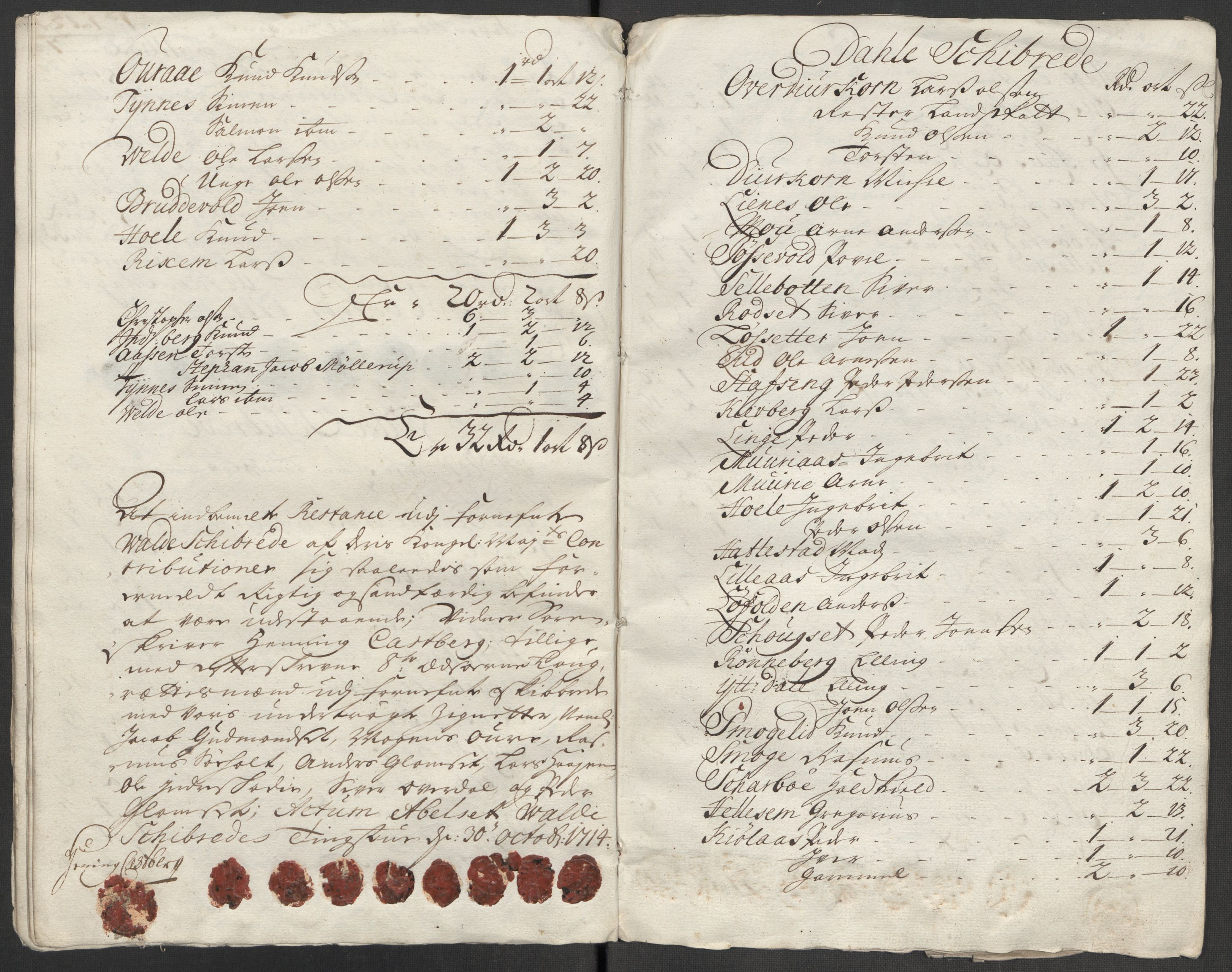 RA, Rentekammeret inntil 1814, Reviderte regnskaper, Fogderegnskap, R54/L3566: Fogderegnskap Sunnmøre, 1714, s. 272