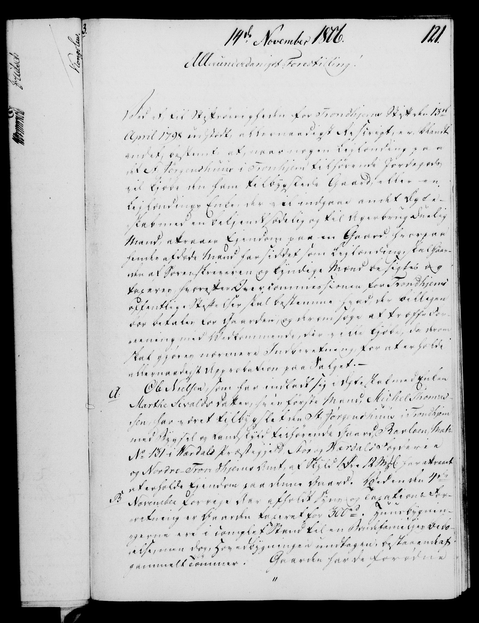 RA, Rentekammeret, Kammerkanselliet, G/Gf/Gfa/L0088: Norsk relasjons- og resolusjonsprotokoll (merket RK 52.88), 1806, s. 708