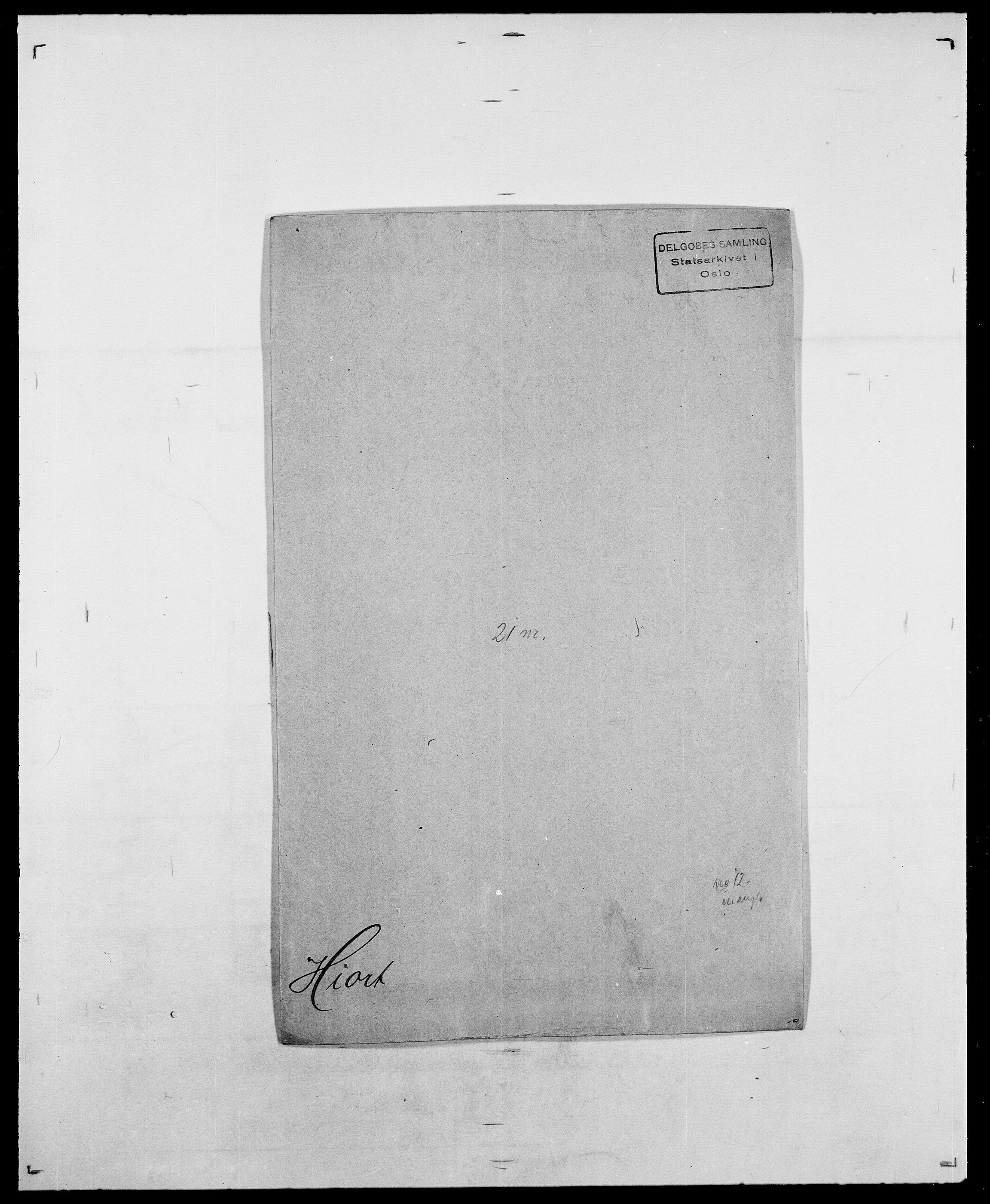 SAO, Delgobe, Charles Antoine - samling, D/Da/L0017: Helander - Hjørne, s. 472