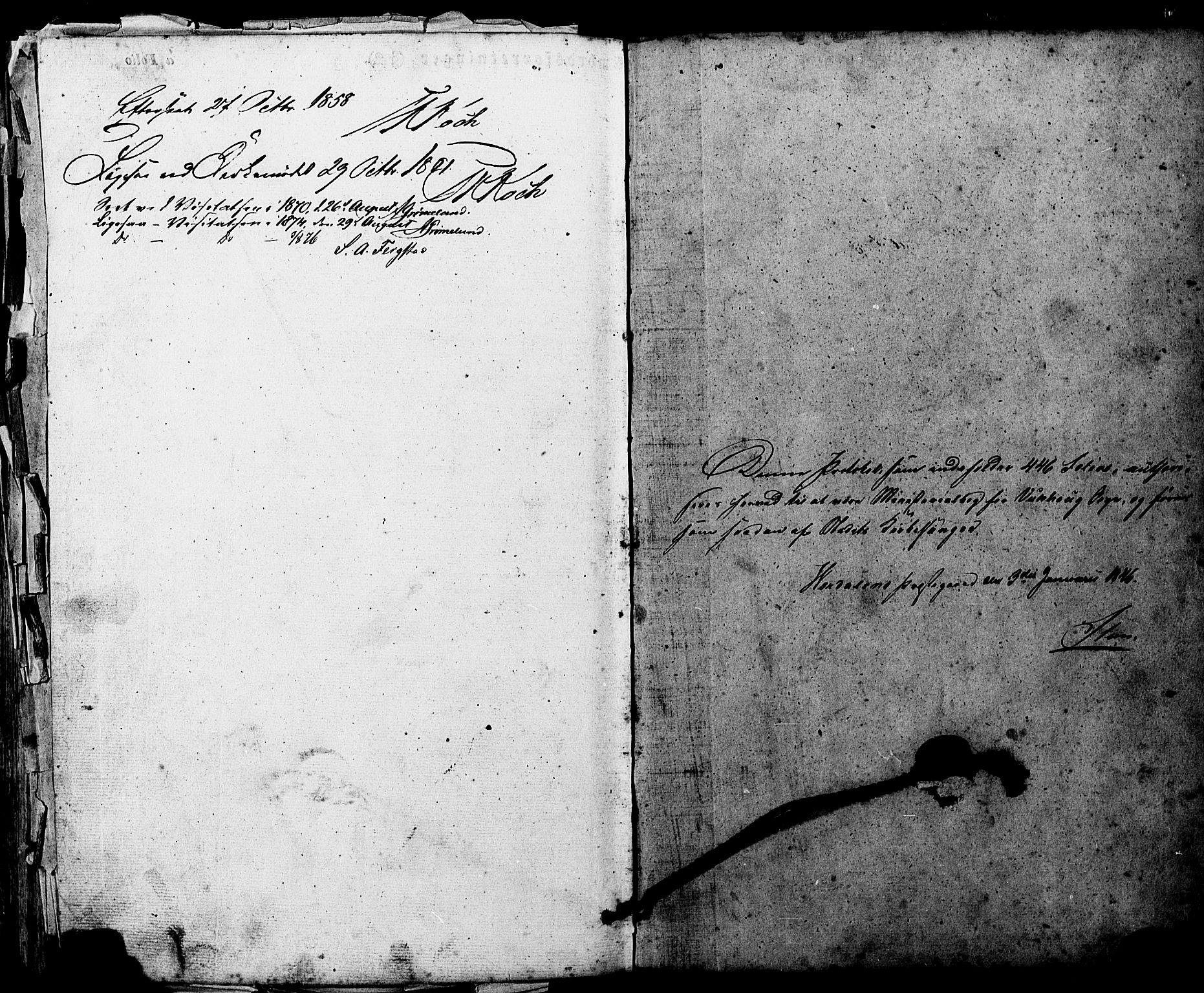 SAT, Ministerialprotokoller, klokkerbøker og fødselsregistre - Nord-Trøndelag, 724/L0268: Klokkerbok nr. 724C04, 1846-1878