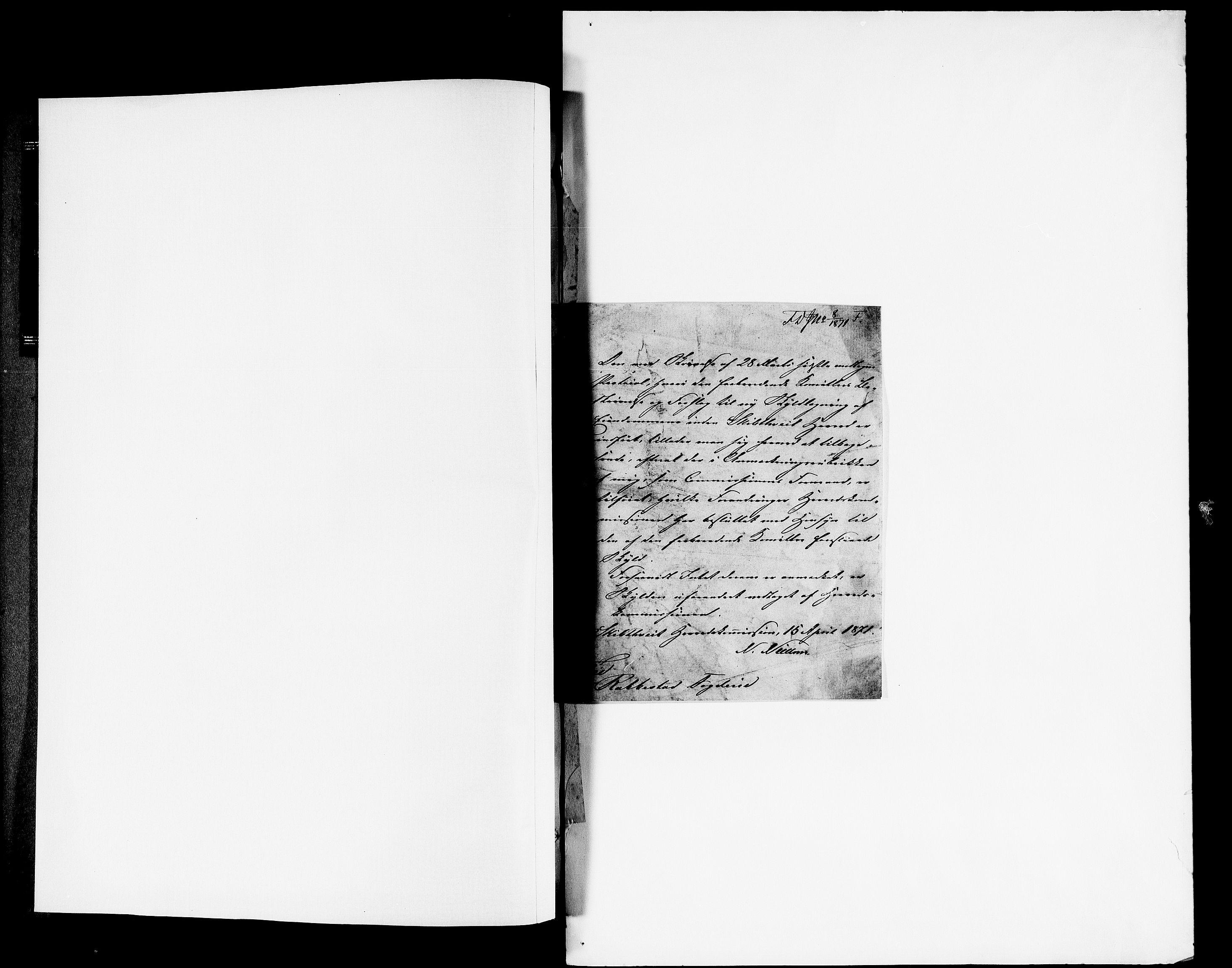 RA, Matrikkelrevisjonen av 1863, F/Fe/L0004: Skiptvedt, 1863