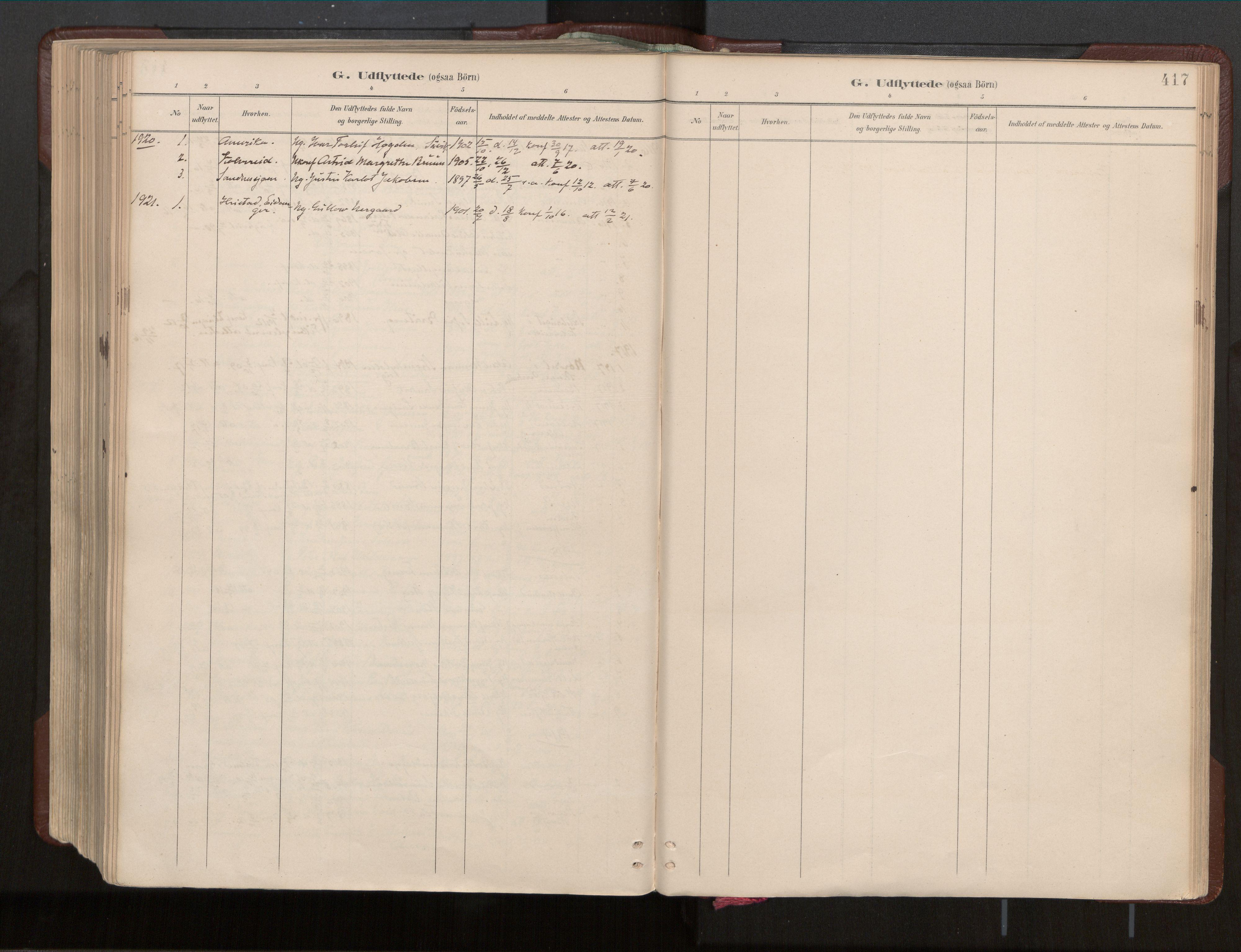 SAT, Ministerialprotokoller, klokkerbøker og fødselsregistre - Nord-Trøndelag, 770/L0589: Ministerialbok nr. 770A03, 1887-1929, s. 417