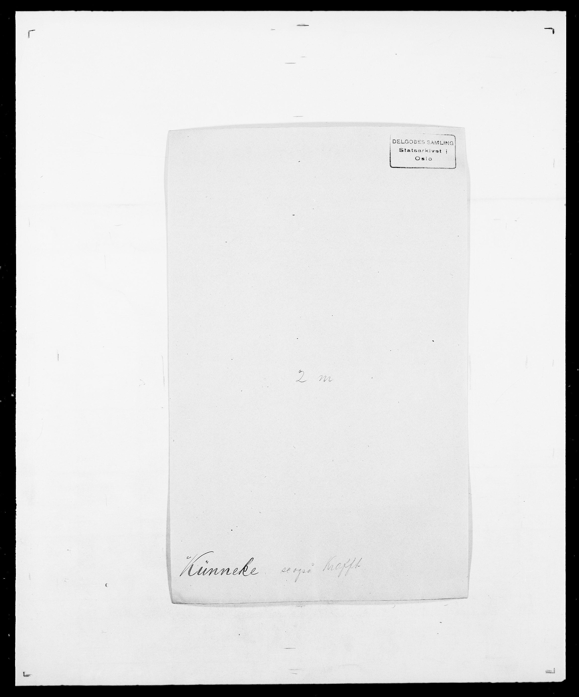 SAO, Delgobe, Charles Antoine - samling, D/Da/L0022: Krog - Lasteen, s. 277