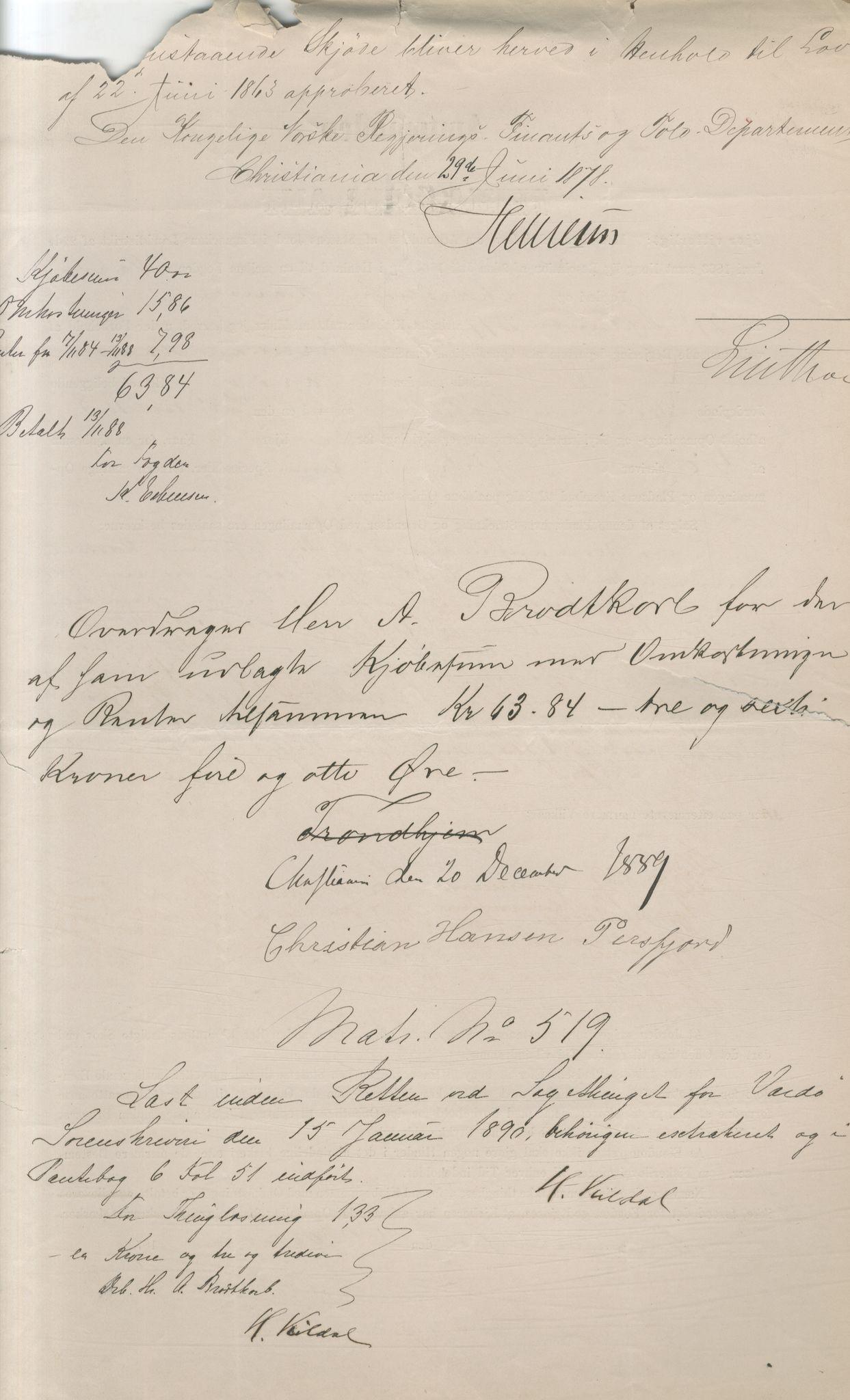 VAMU, Brodtkorb handel A/S, Q/Qb/L0003: Faste eiendommer i Vardø Herred, 1862-1939, s. 50