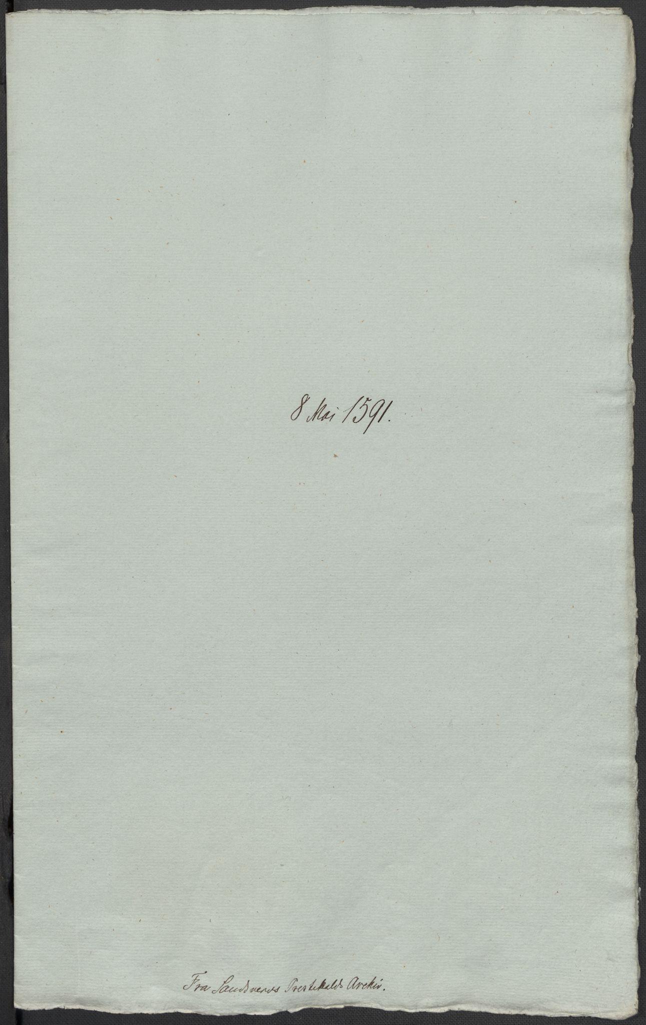 RA, Riksarkivets diplomsamling, F02/L0093: Dokumenter, 1591, s. 80