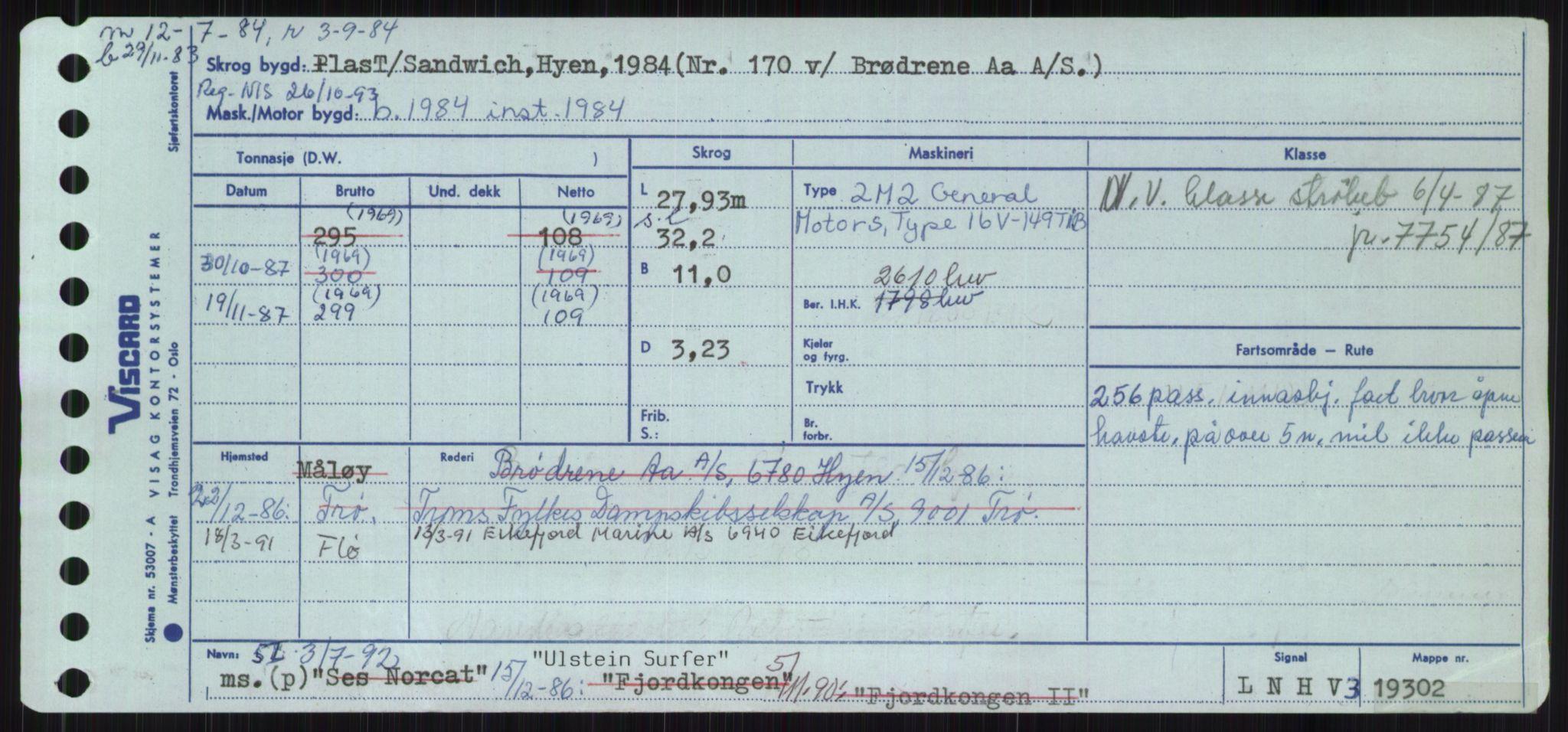 RA, Sjøfartsdirektoratet med forløpere, Skipsmålingen, H/Ha/L0006: Fartøy, Sver-Å, s. 21
