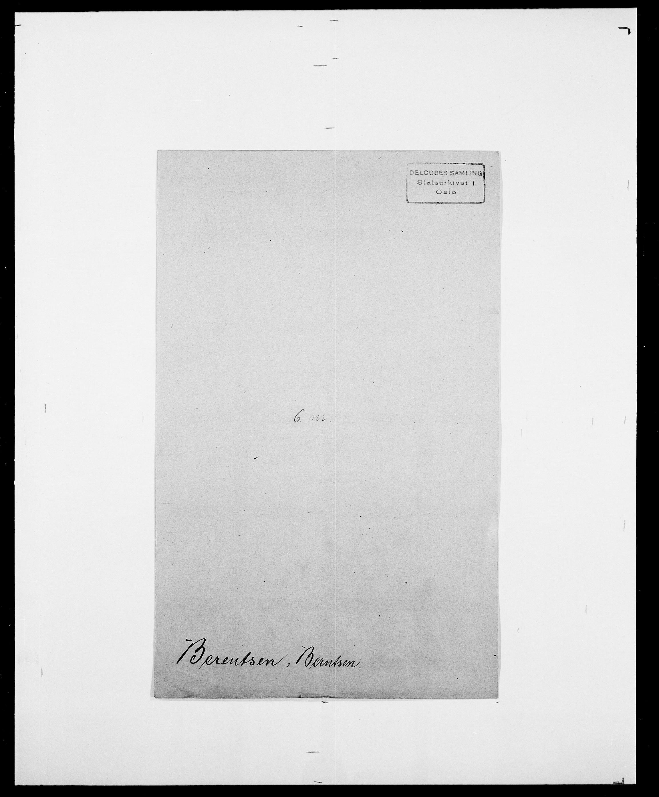 SAO, Delgobe, Charles Antoine - samling, D/Da/L0003: Barca - Bergen, s. 865