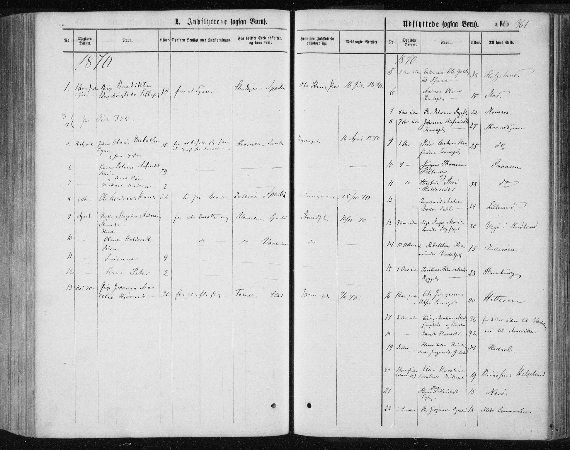 SAT, Ministerialprotokoller, klokkerbøker og fødselsregistre - Nord-Trøndelag, 735/L0345: Ministerialbok nr. 735A08 /1, 1863-1872, s. 361