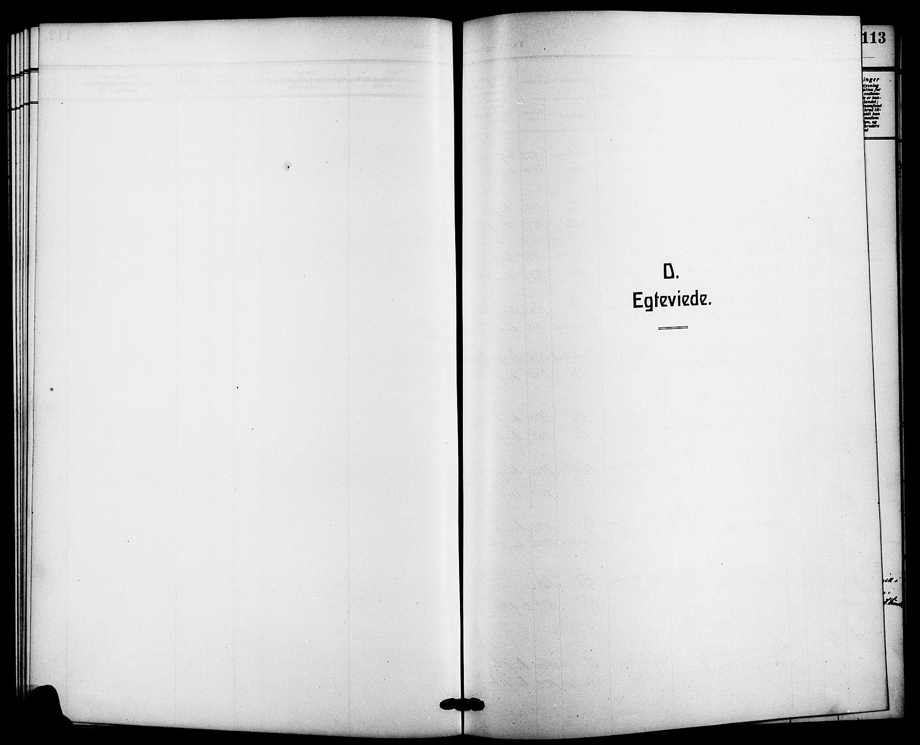 SAKO, Bø kirkebøker, G/Ga/L0007: Klokkerbok nr. 7, 1909-1924