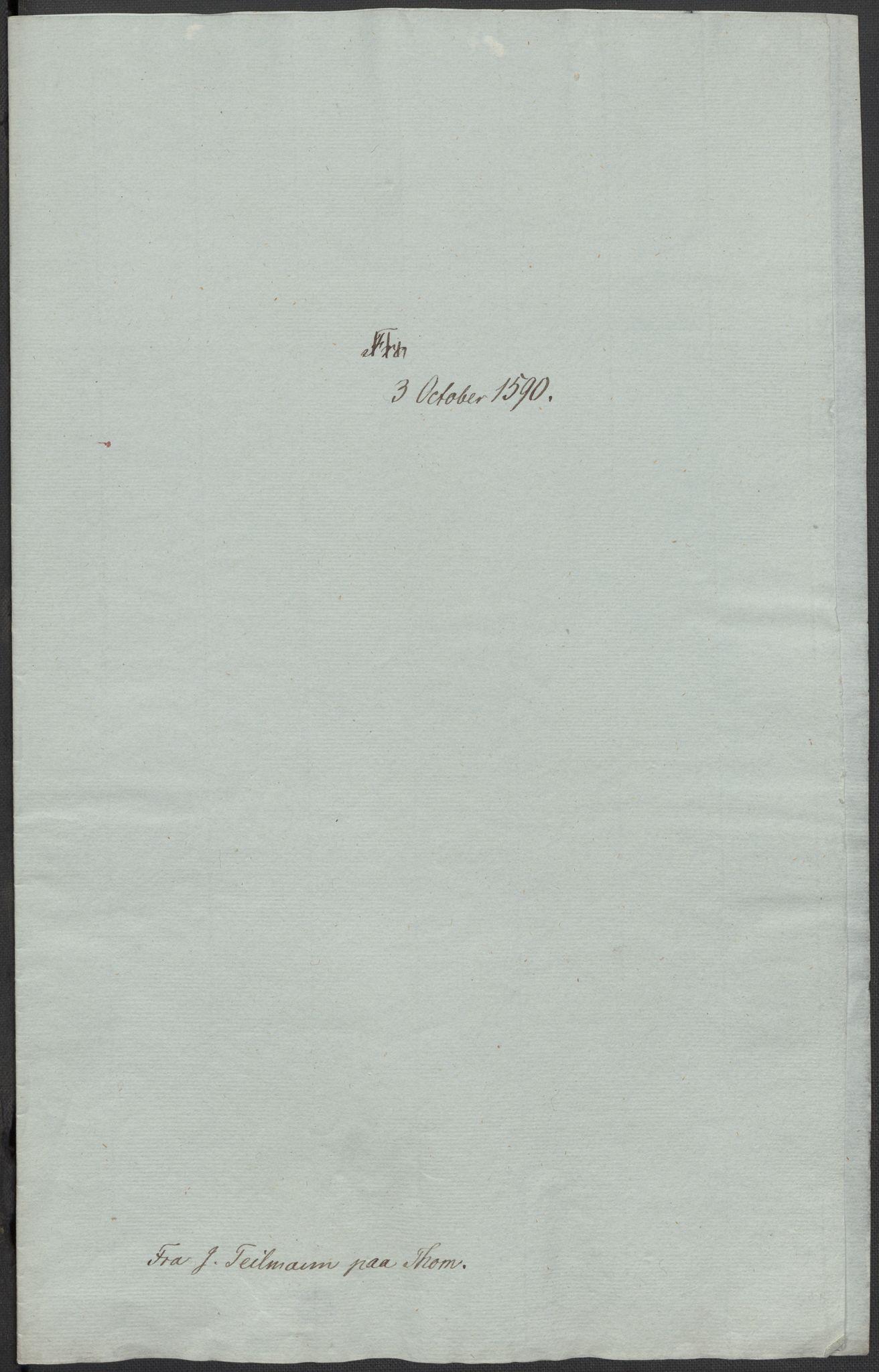 RA, Riksarkivets diplomsamling, F02/L0092: Dokumenter, 1590, s. 24