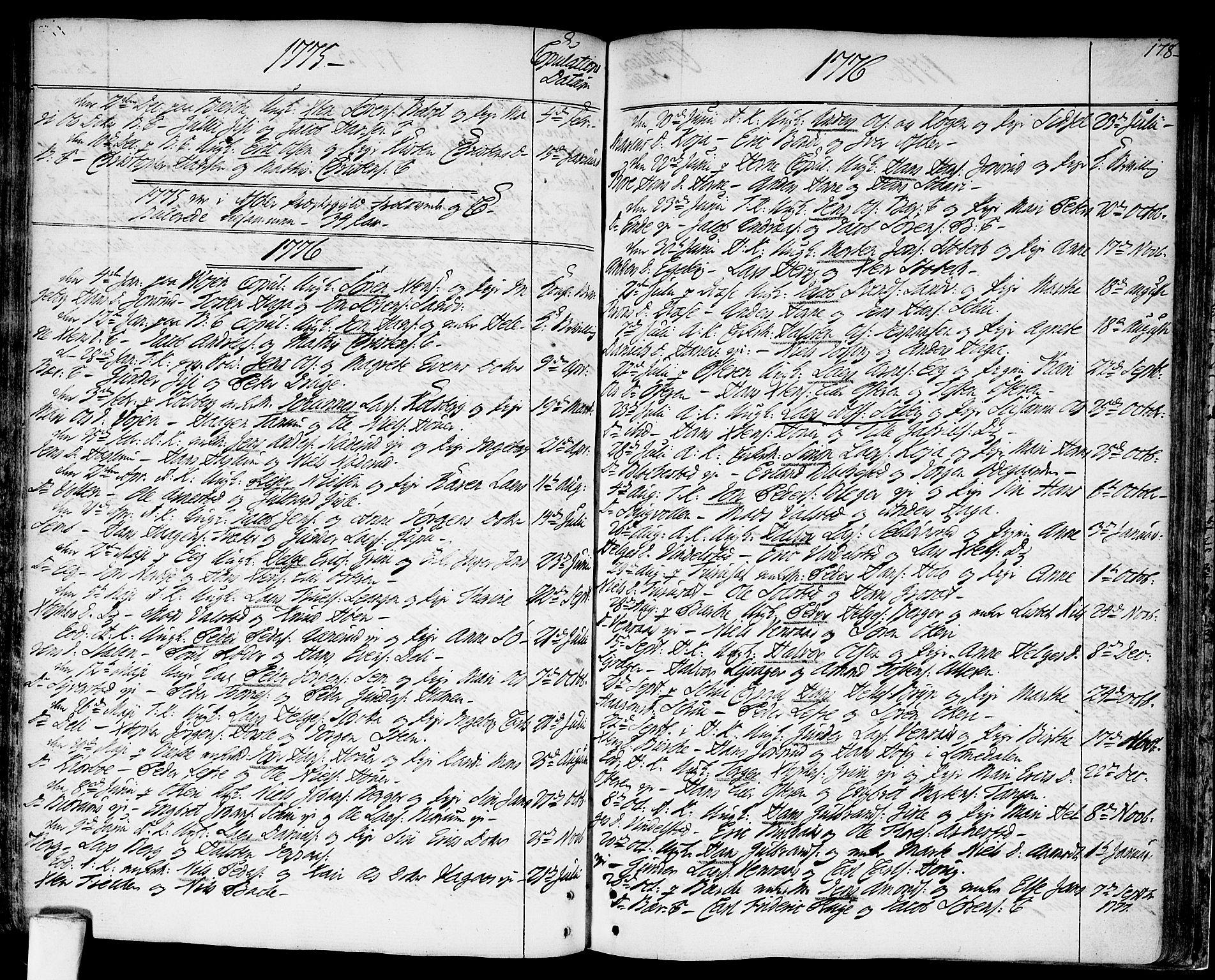 SAO, Asker prestekontor Kirkebøker, F/Fa/L0003: Ministerialbok nr. I 3, 1767-1807, s. 178