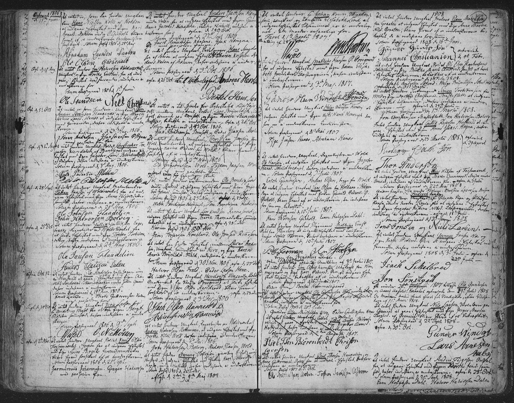 SAKO, Solum kirkebøker, F/Fa/L0003: Ministerialbok nr. I 3, 1761-1814, s. 192a-192b