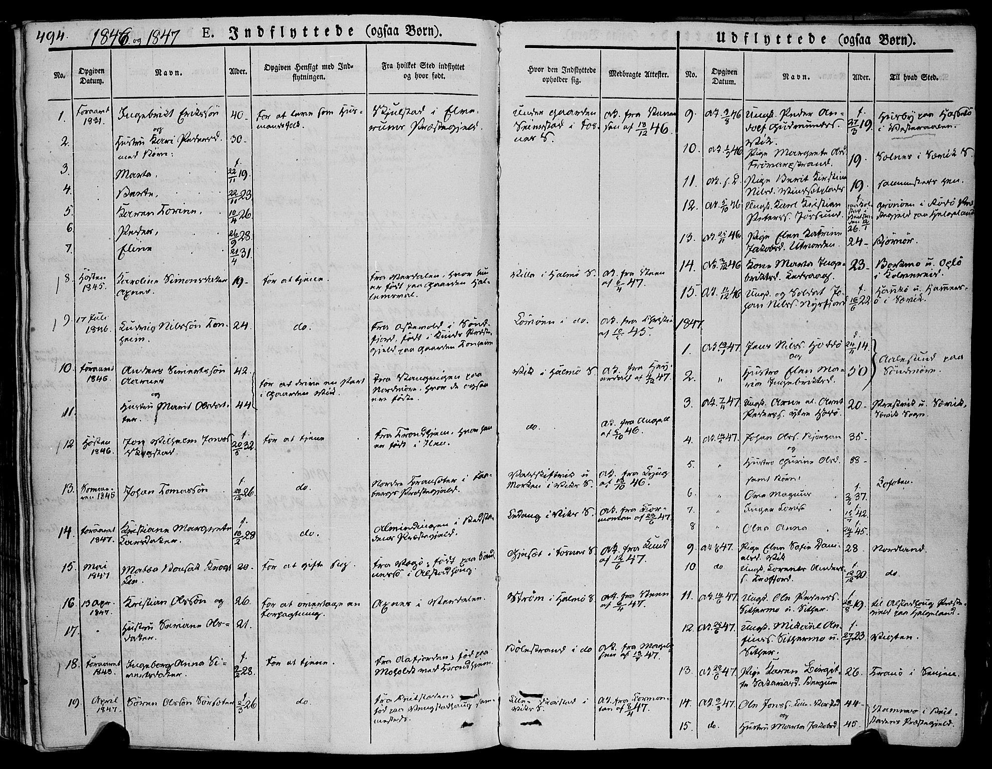 SAT, Ministerialprotokoller, klokkerbøker og fødselsregistre - Nord-Trøndelag, 773/L0614: Ministerialbok nr. 773A05, 1831-1856, s. 494