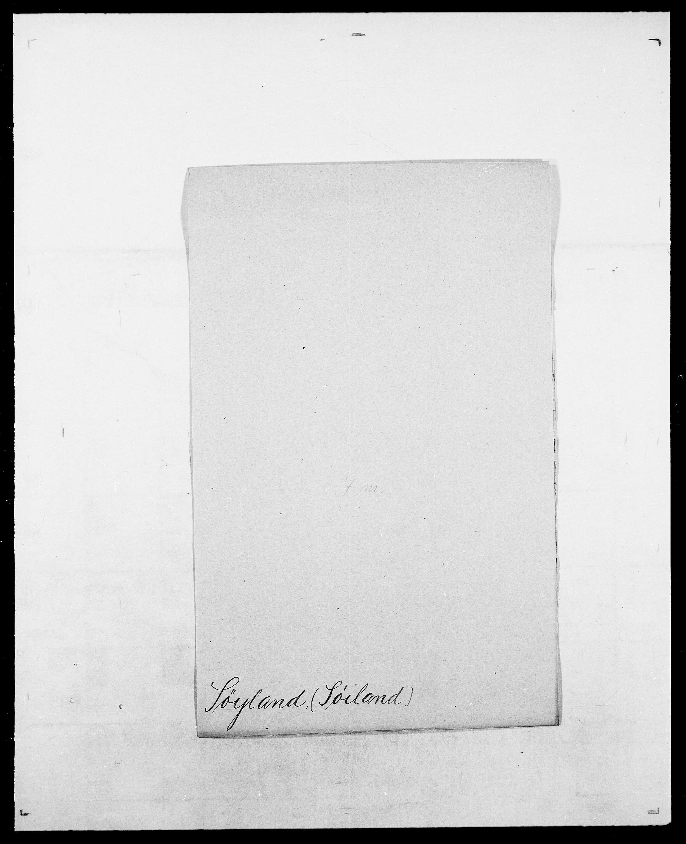 SAO, Delgobe, Charles Antoine - samling, D/Da/L0038: Svanenskjold - Thornsohn, s. 249