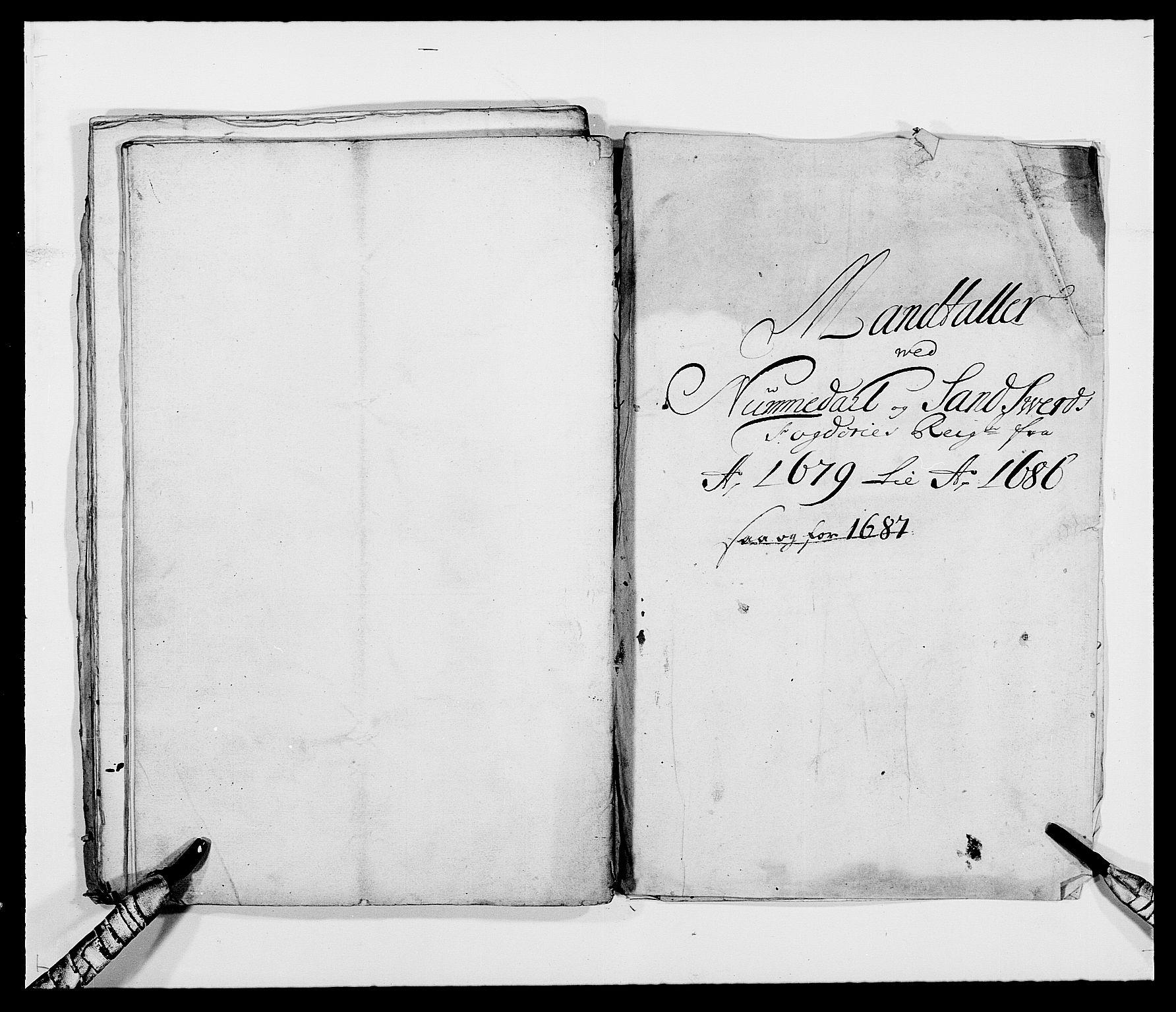 RA, Rentekammeret inntil 1814, Reviderte regnskaper, Fogderegnskap, R24/L1569: Fogderegnskap Numedal og Sandsvær, 1679-1686, s. 92