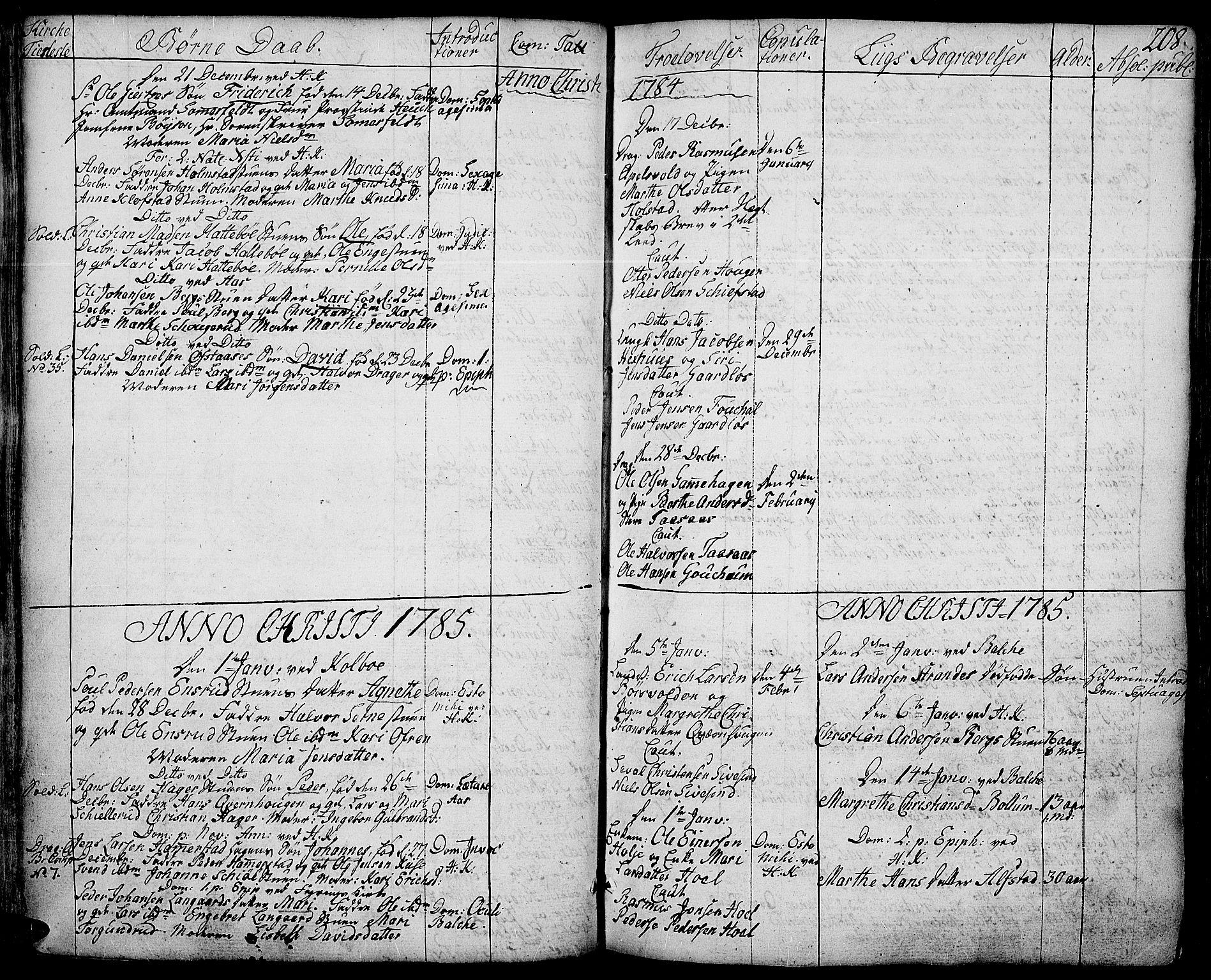 SAH, Toten prestekontor, Ministerialbok nr. 6, 1773-1793, s. 208
