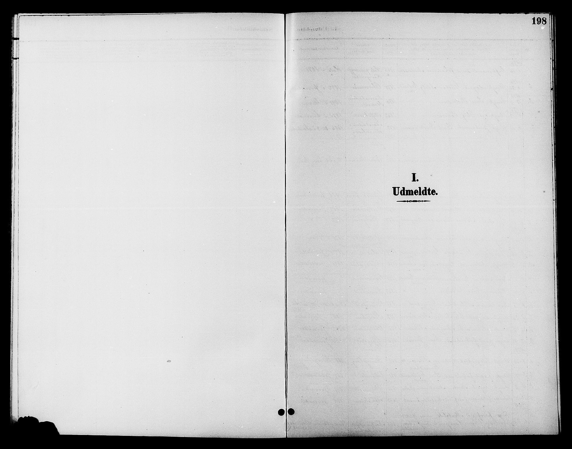 SAH, Jevnaker prestekontor, Klokkerbok nr. 2, 1896-1906, s. 198