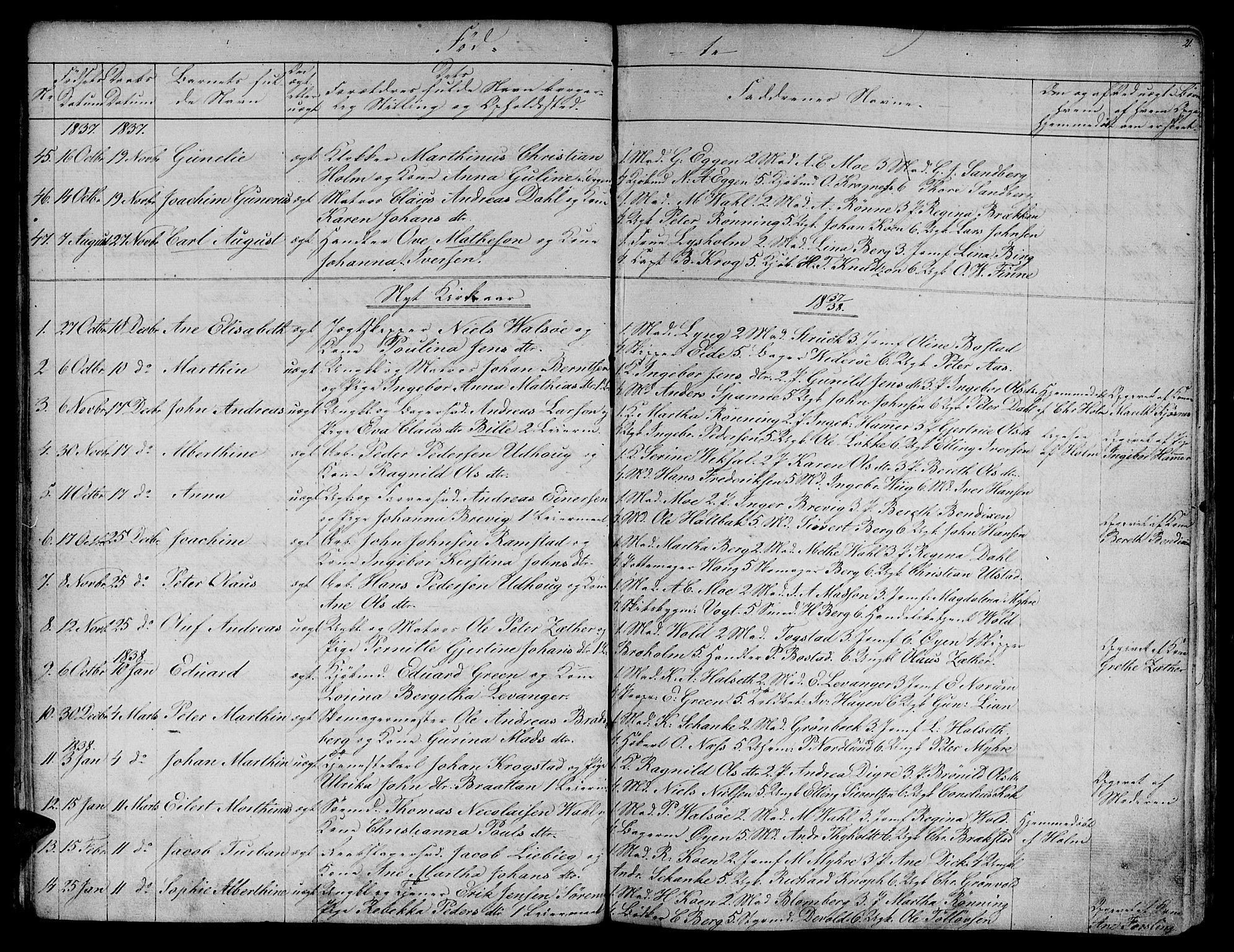SAT, Ministerialprotokoller, klokkerbøker og fødselsregistre - Sør-Trøndelag, 604/L0182: Ministerialbok nr. 604A03, 1818-1850, s. 21