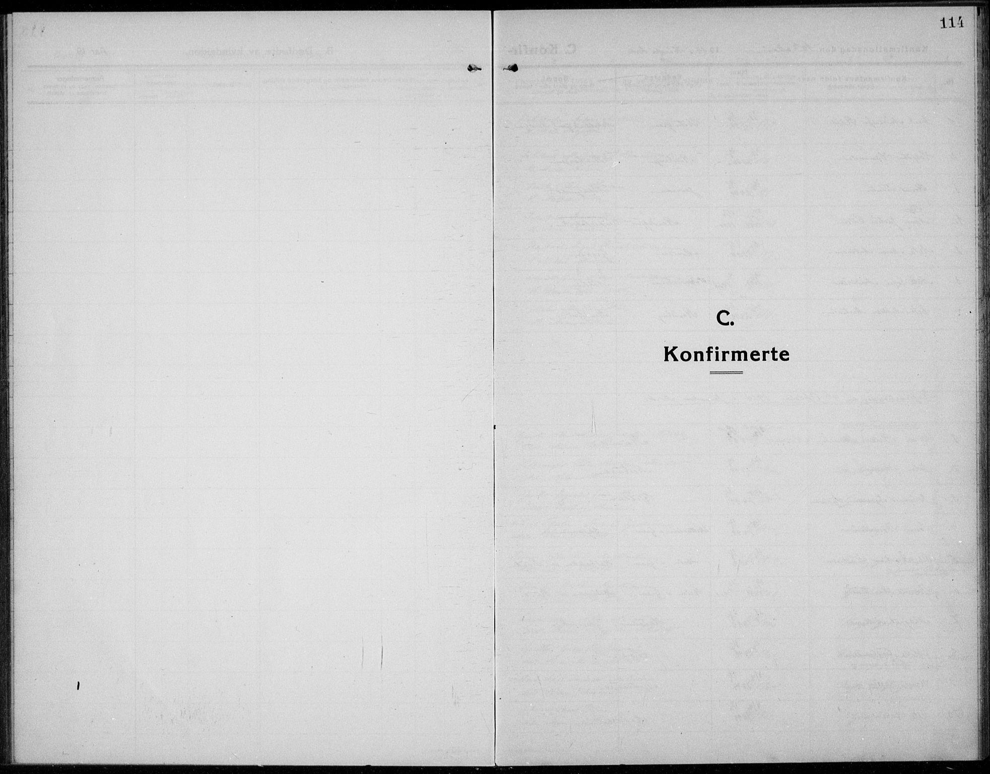 SAH, Jevnaker prestekontor, Ministerialbok nr. 12, 1914-1924, s. 114