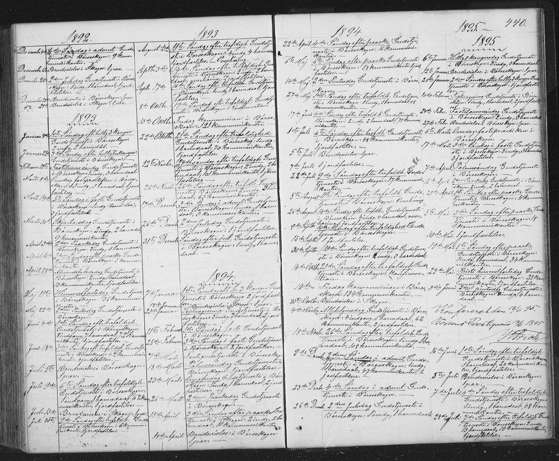 SAT, Ministerialprotokoller, klokkerbøker og fødselsregistre - Sør-Trøndelag, 667/L0798: Klokkerbok nr. 667C03, 1867-1929, s. 440