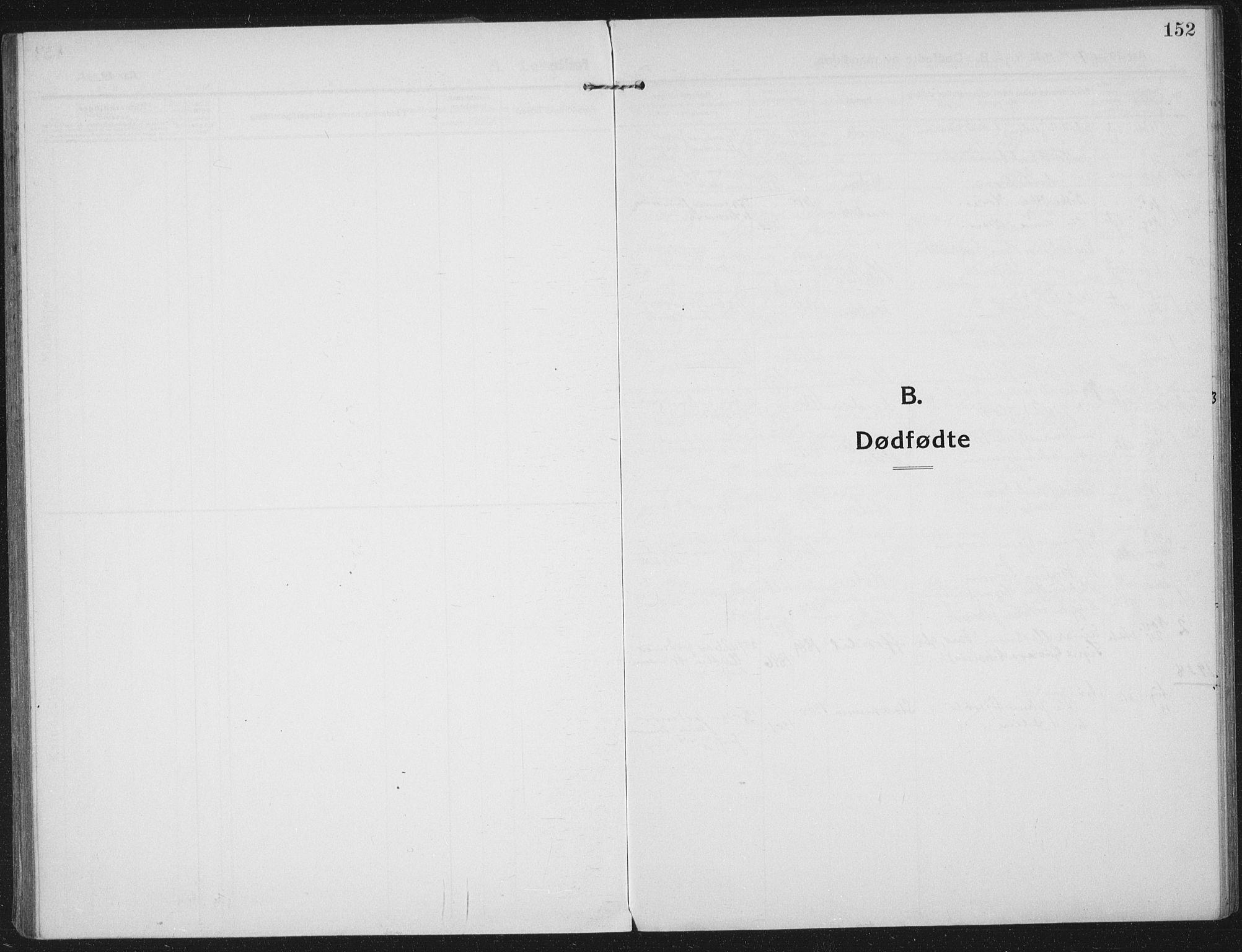 SAT, Ministerialprotokoller, klokkerbøker og fødselsregistre - Nord-Trøndelag, 709/L0083: Ministerialbok nr. 709A23, 1916-1928, s. 152