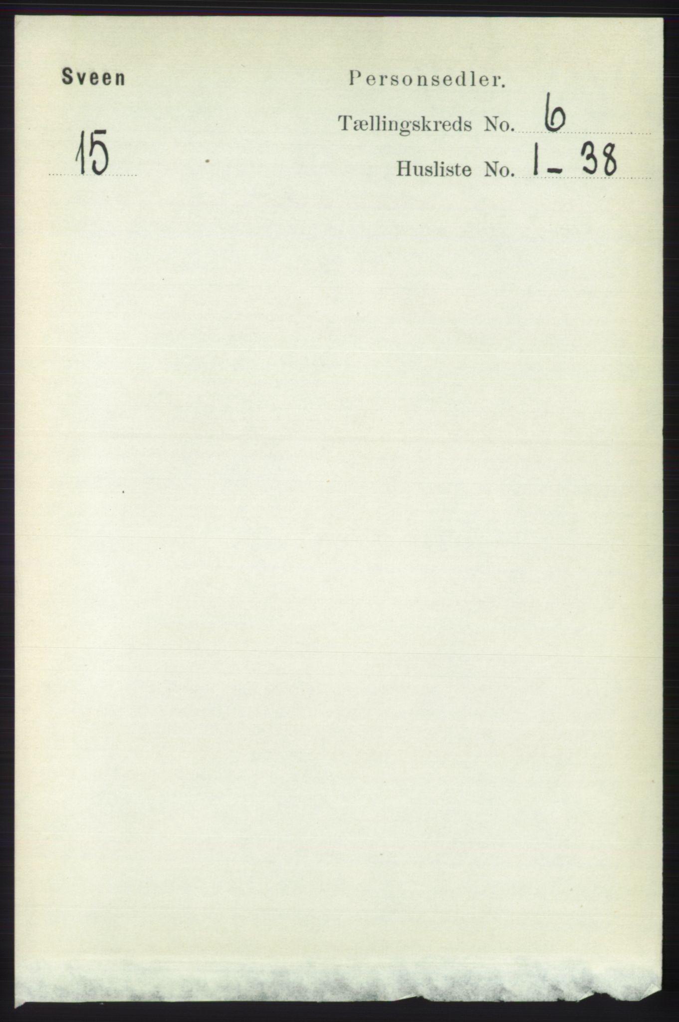 RA, Folketelling 1891 for 1216 Sveio herred, 1891, s. 1713
