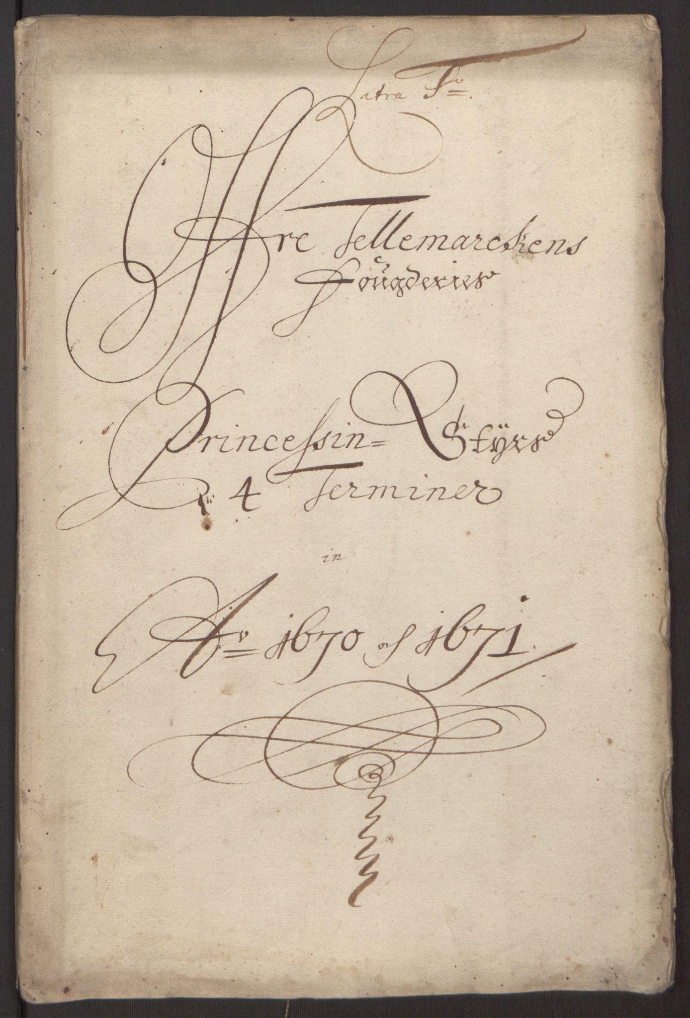 RA, Rentekammeret inntil 1814, Reviderte regnskaper, Fogderegnskap, R35/L2060: Fogderegnskap Øvre og Nedre Telemark, 1671-1672, s. 92