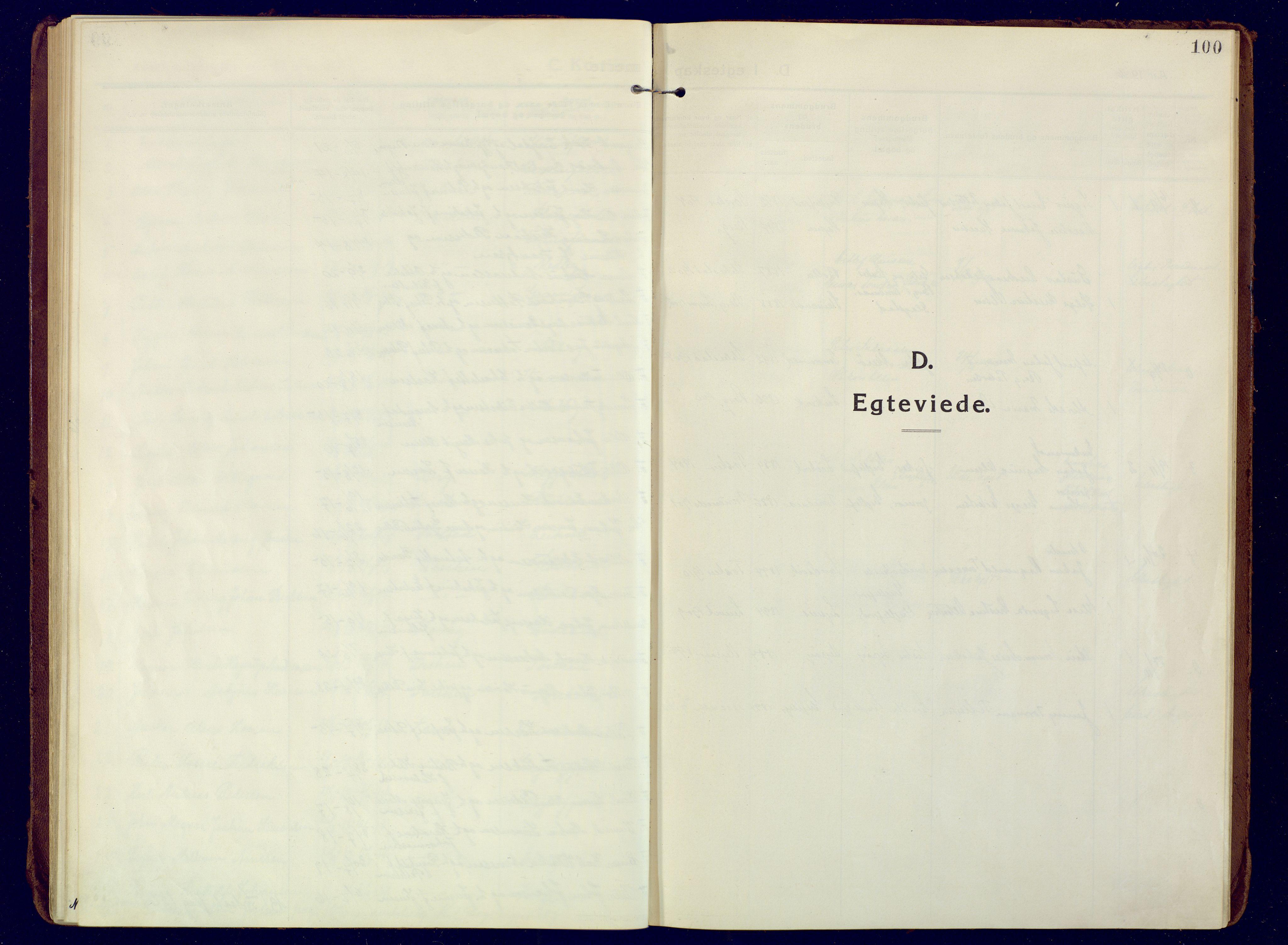 SATØ, Mefjord/Berg sokneprestkontor, G/Ga/Gaa: Ministerialbok nr. 10, 1916-1928, s. 100