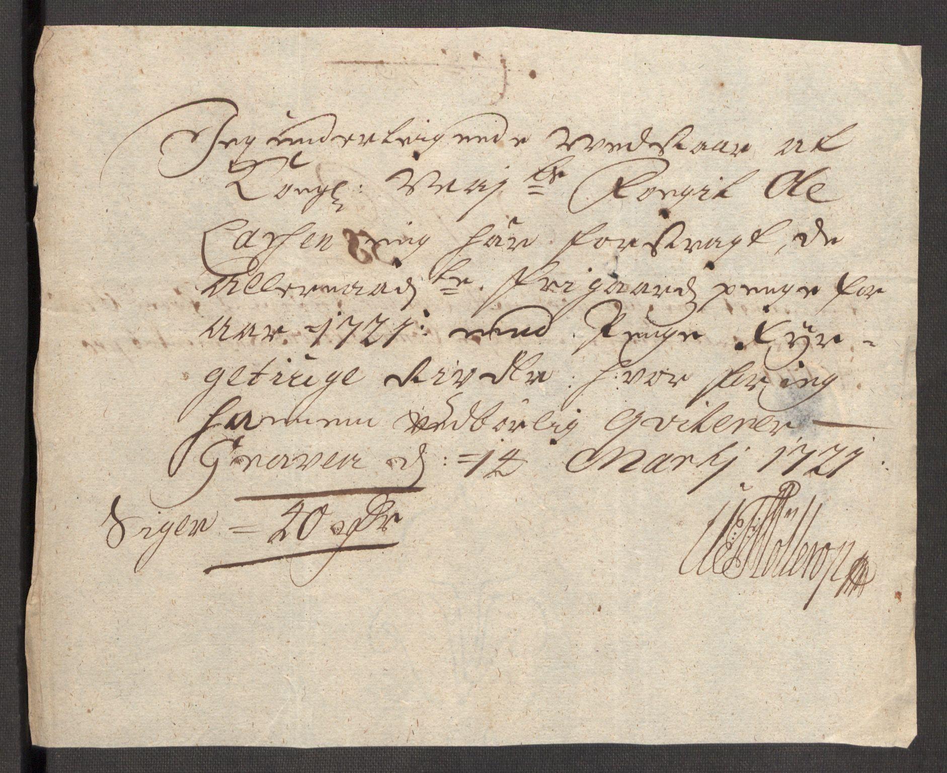 RA, Rentekammeret inntil 1814, Reviderte regnskaper, Fogderegnskap, R48/L3000: Fogderegnskap Sunnhordland og Hardanger, 1721, s. 332