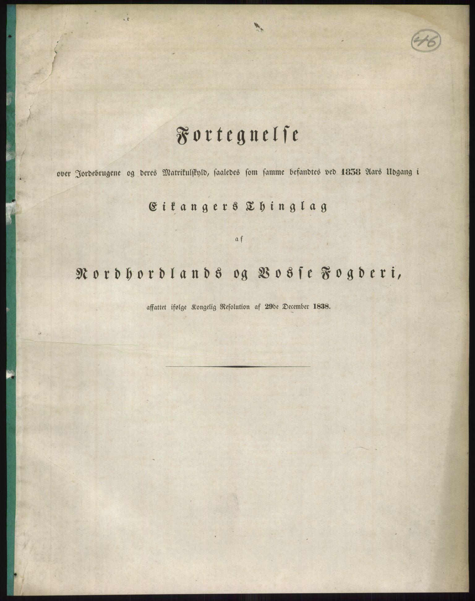RA, 1838-matrikkelen (publikasjon)*, 1838, s. 46