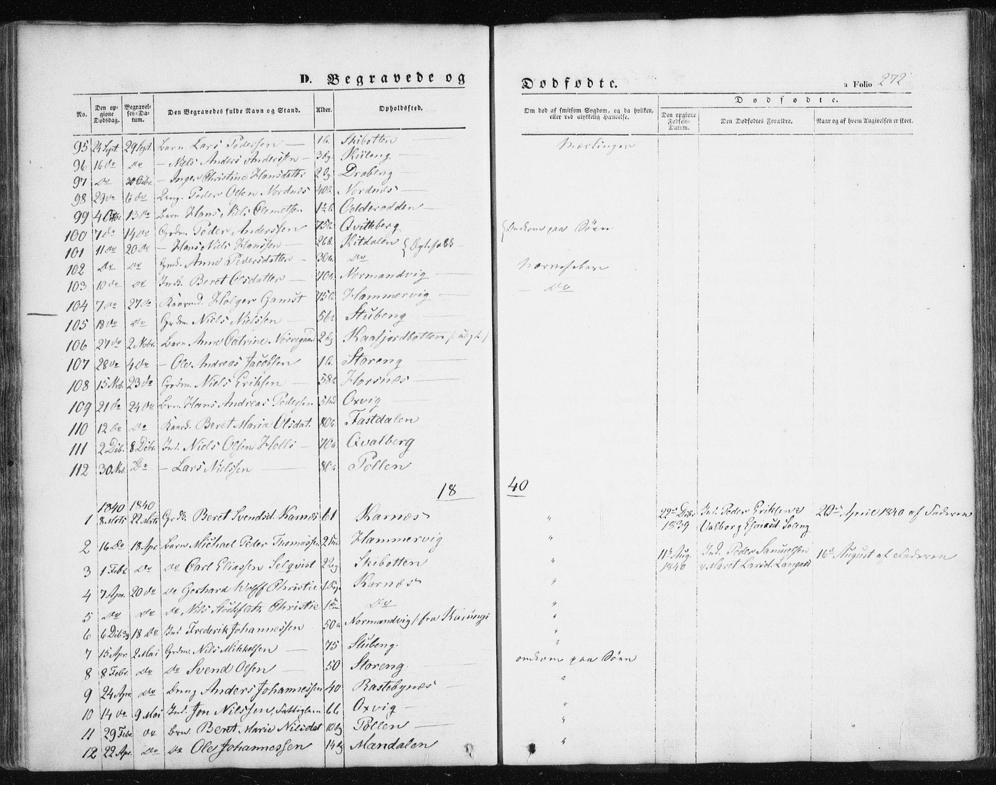 SATØ, Lyngen sokneprestembete, Ministerialbok nr. 4, 1839-1858, s. 272
