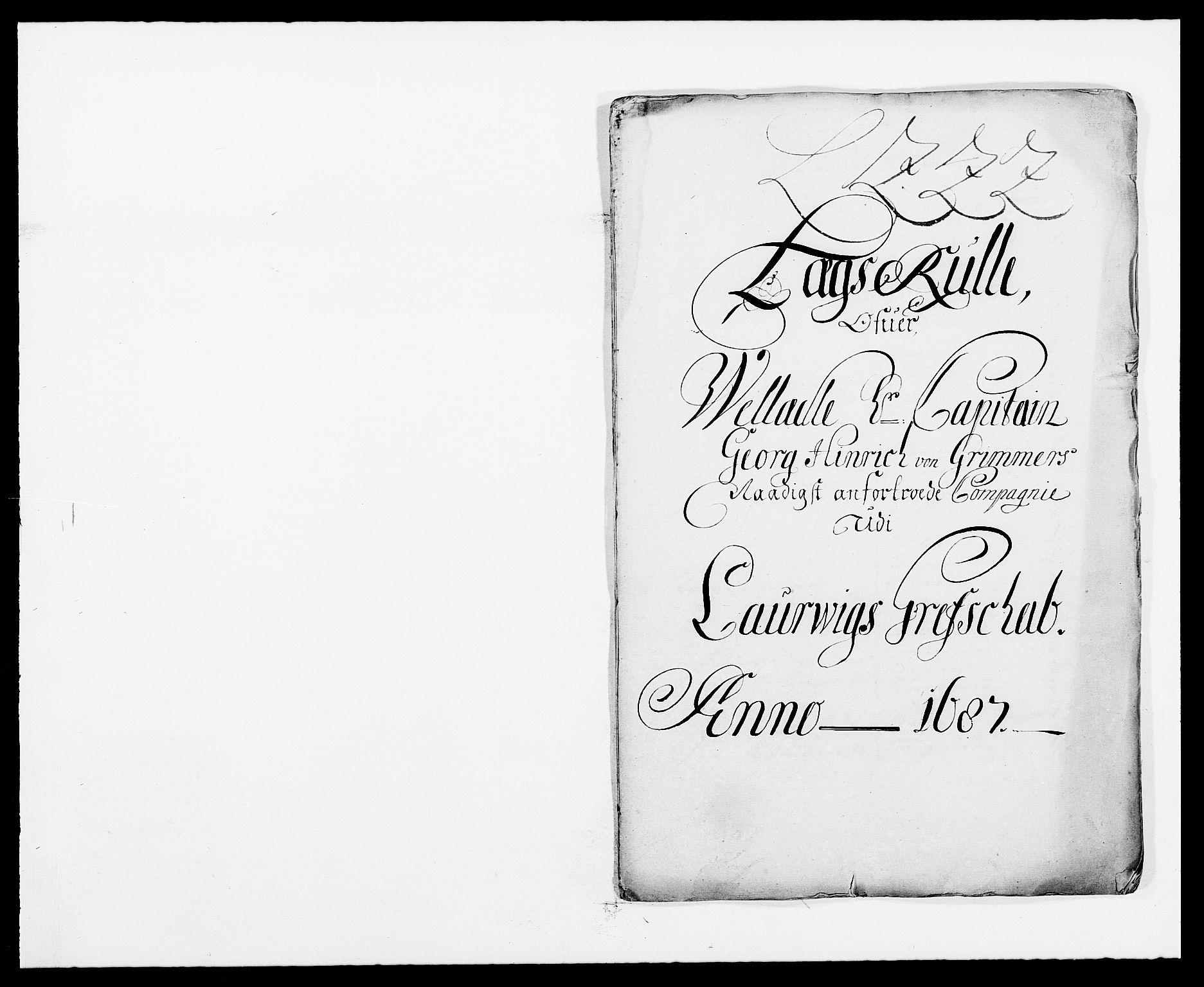 RA, Rentekammeret inntil 1814, Reviderte regnskaper, Fogderegnskap, R33/L1970: Fogderegnskap Larvik grevskap, 1675-1687, s. 367