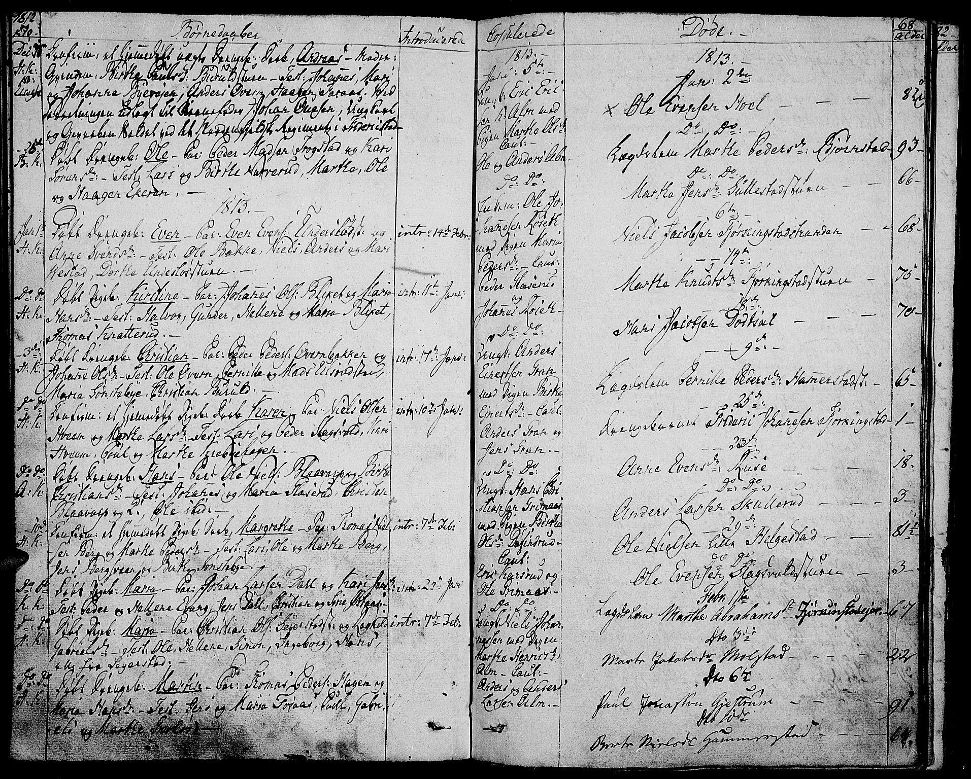 SAH, Toten prestekontor, Ministerialbok nr. 8, 1809-1814, s. 68