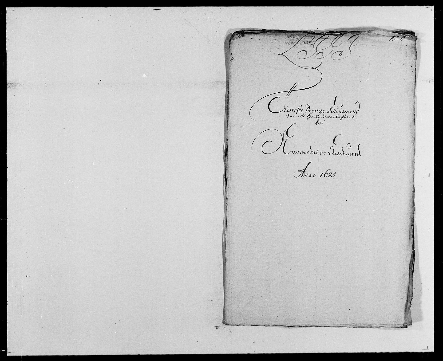RA, Rentekammeret inntil 1814, Reviderte regnskaper, Fogderegnskap, R24/L1571: Fogderegnskap Numedal og Sandsvær, 1679-1686, s. 413