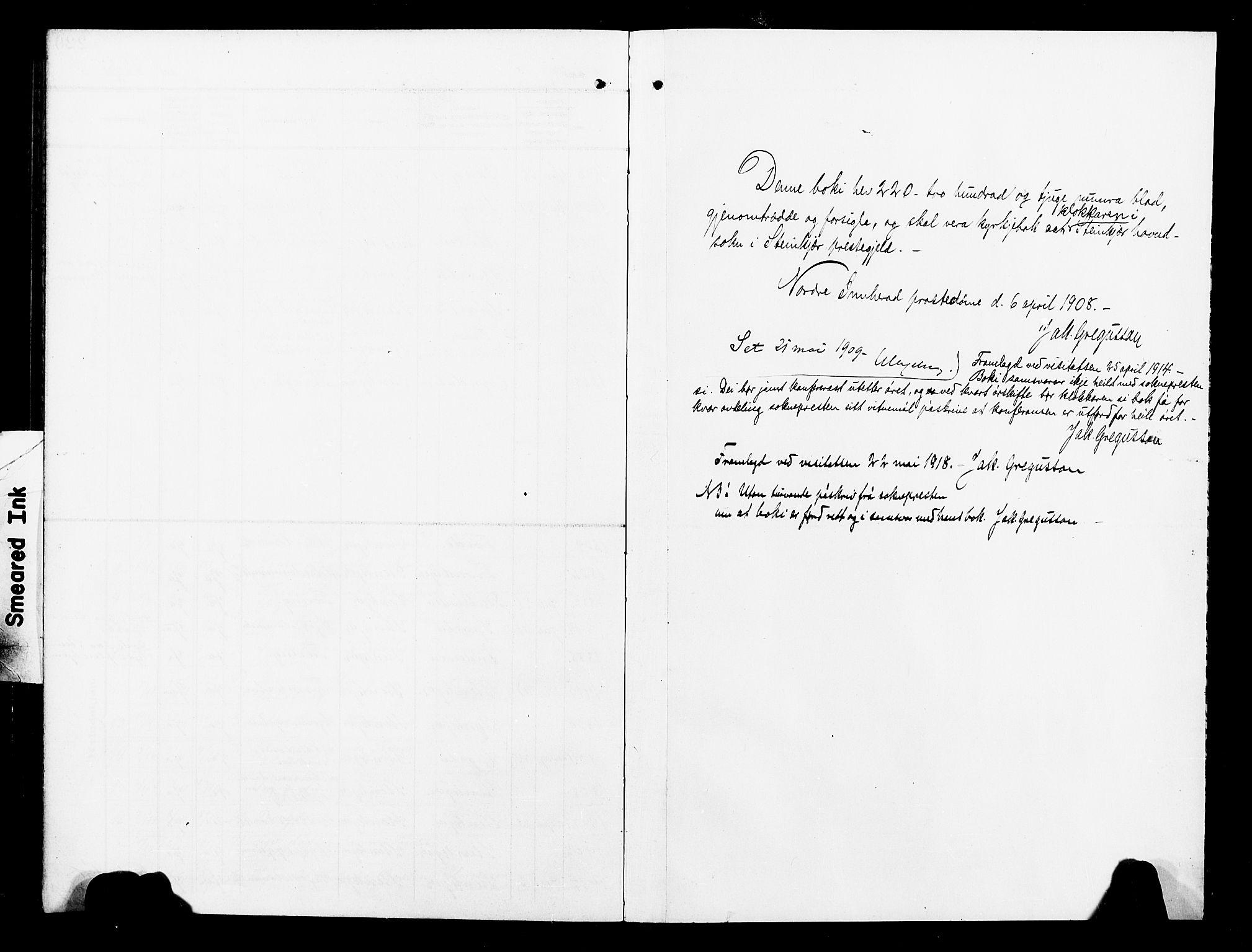 SAT, Ministerialprotokoller, klokkerbøker og fødselsregistre - Nord-Trøndelag, 739/L0376: Klokkerbok nr. 739C04, 1908-1917