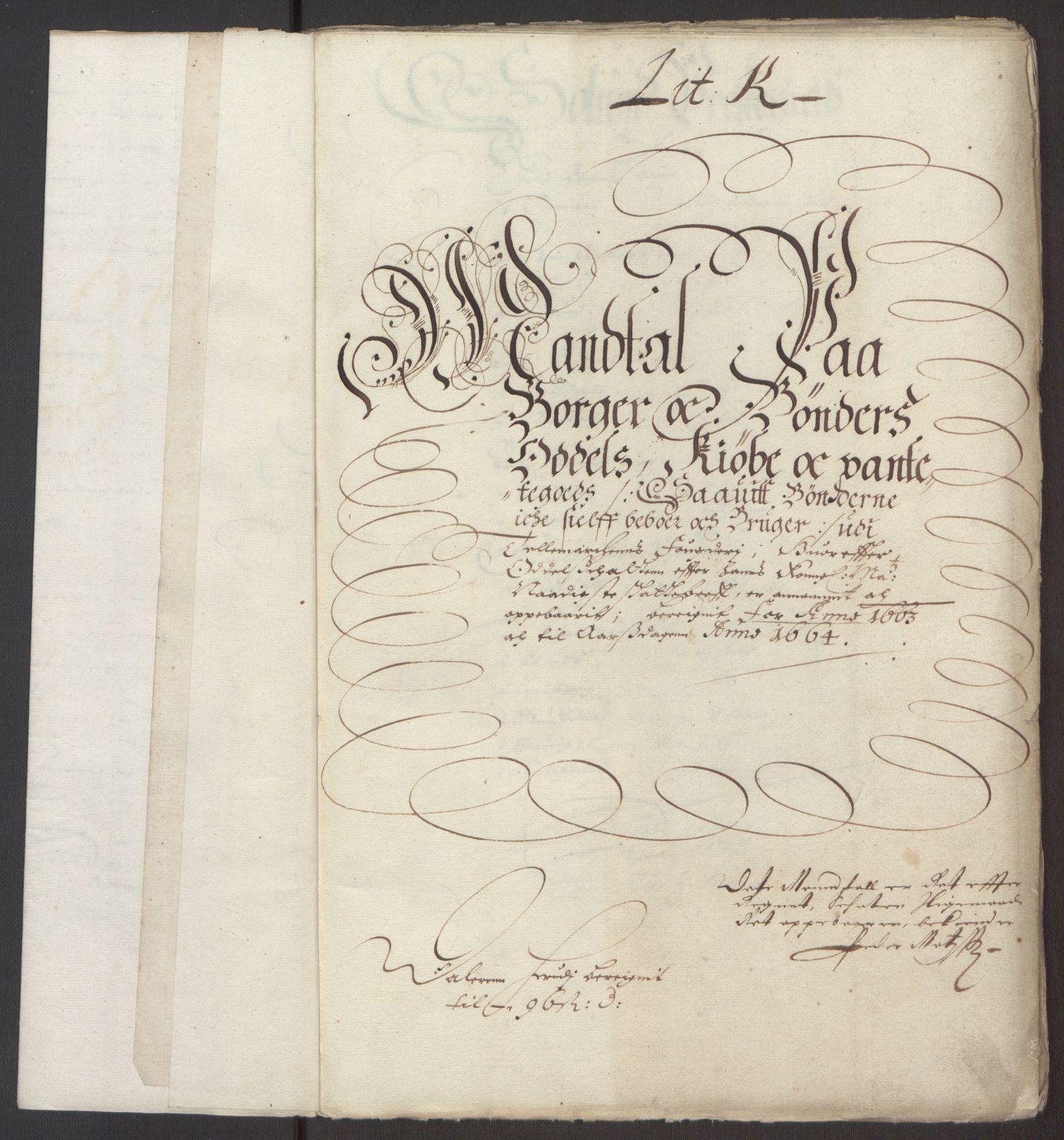 RA, Rentekammeret inntil 1814, Reviderte regnskaper, Fogderegnskap, R35/L2054: Fogderegnskap Øvre og Nedre Telemark, 1662-1663, s. 259