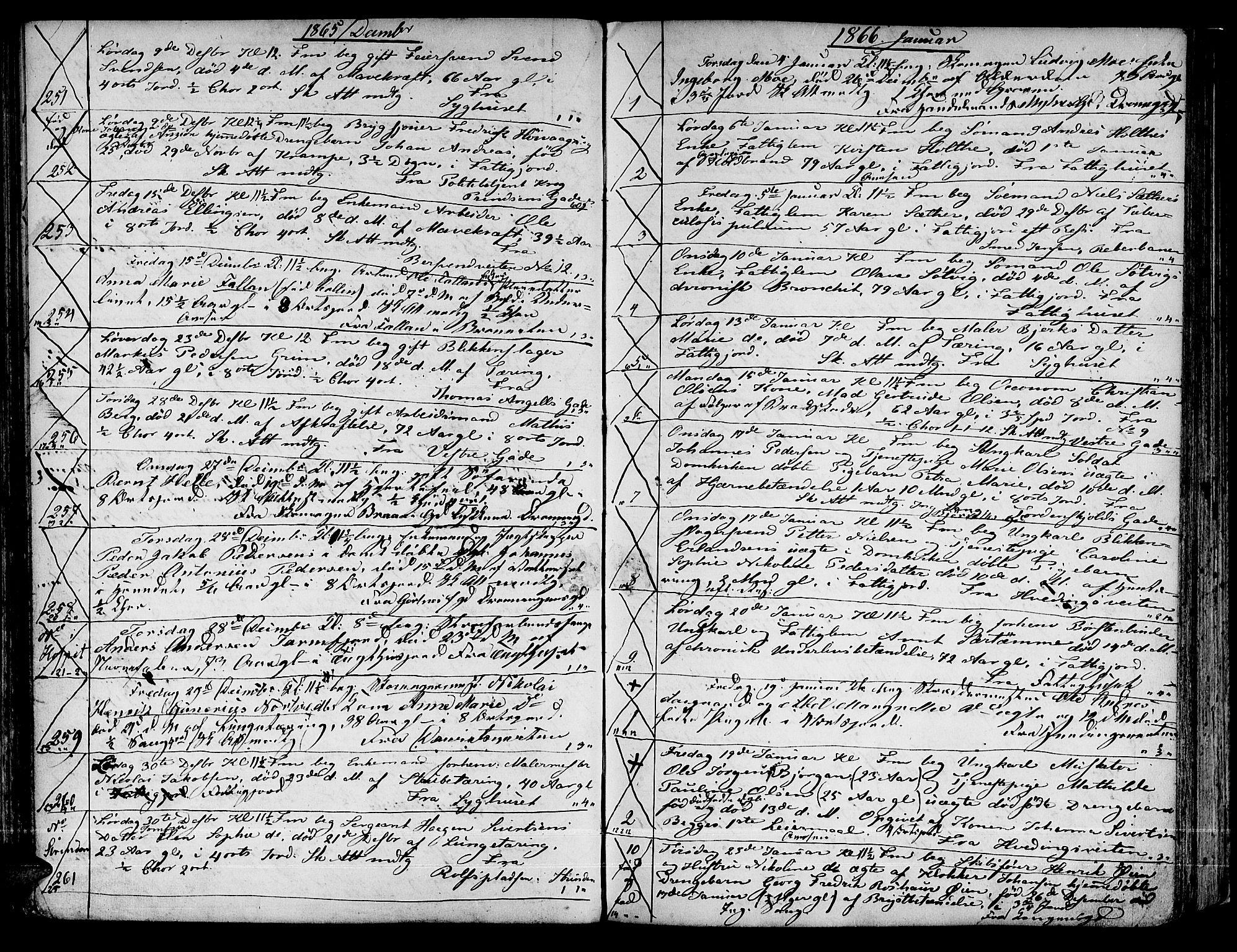 SAT, Ministerialprotokoller, klokkerbøker og fødselsregistre - Sør-Trøndelag, 601/L0084: Klokkerbok nr. 601C02, 1856-1881