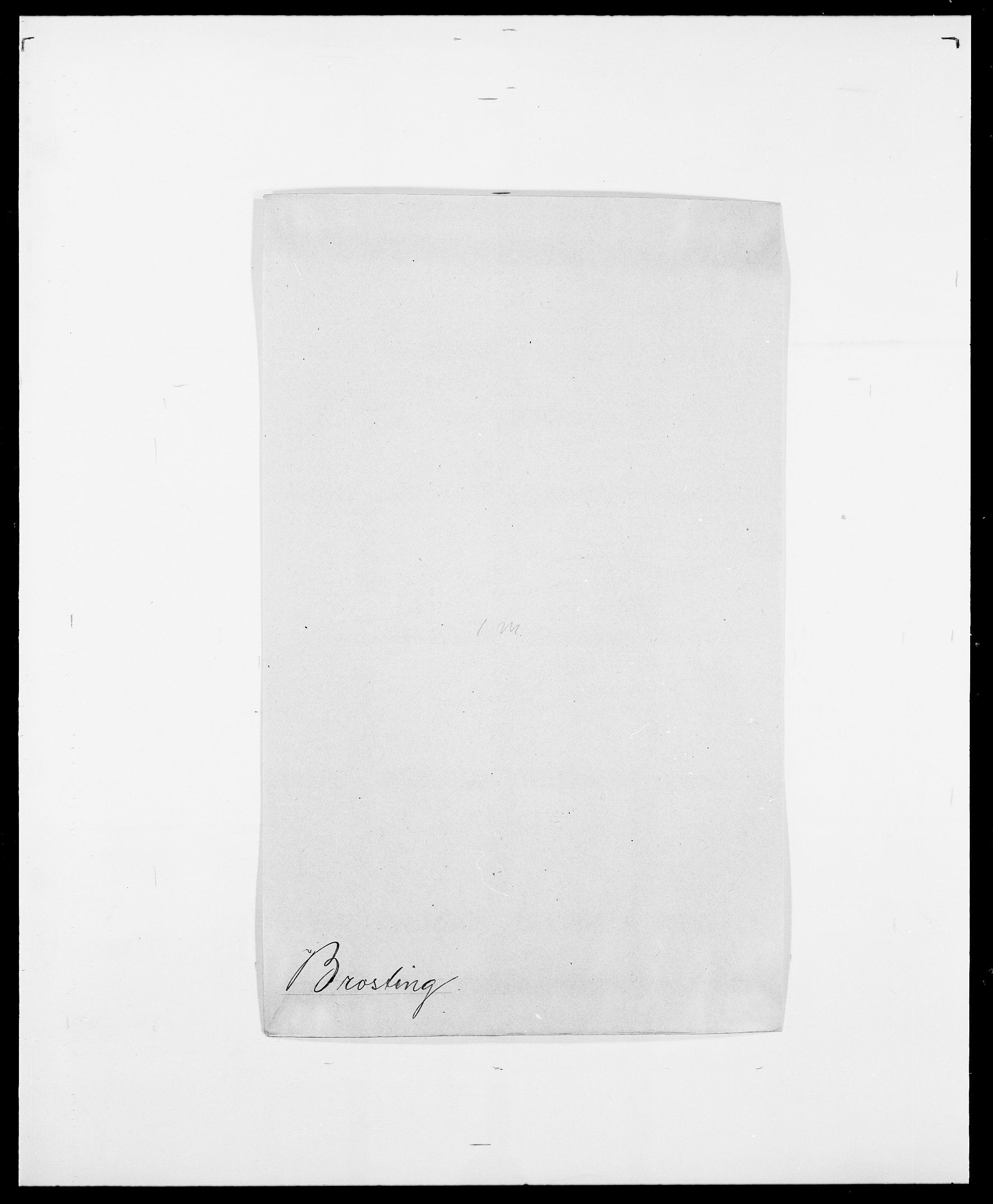 SAO, Delgobe, Charles Antoine - samling, D/Da/L0006: Brambani - Brønø, s. 530