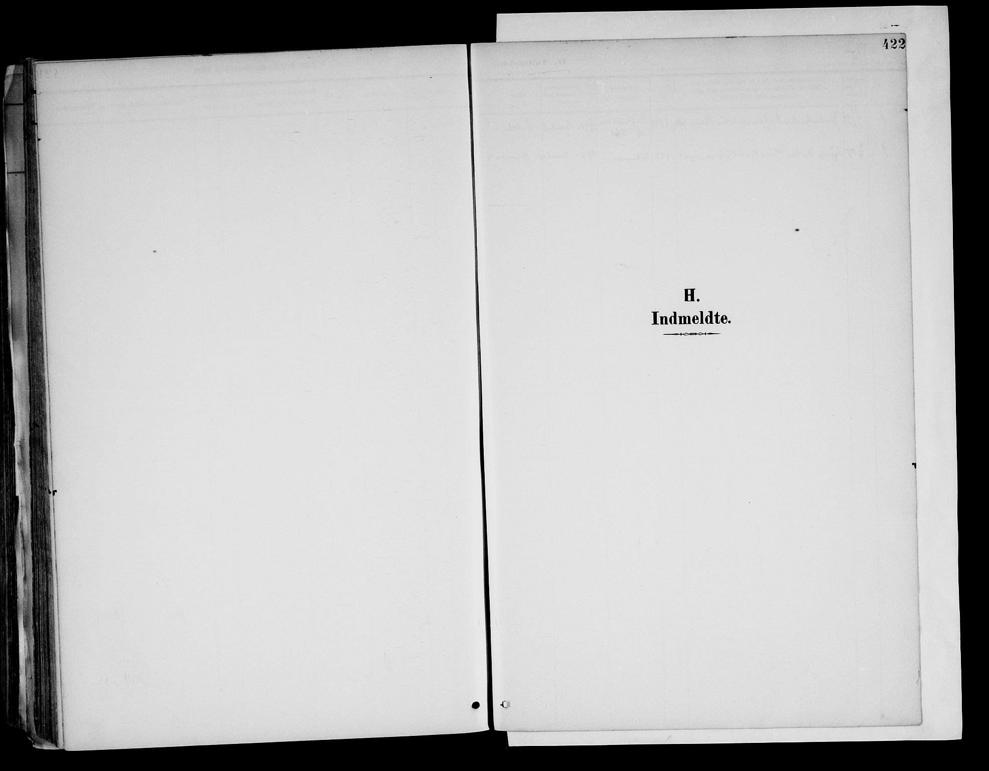 SAH, Brandval prestekontor, H/Ha/Haa/L0003: Ministerialbok nr. 3, 1894-1909, s. 422