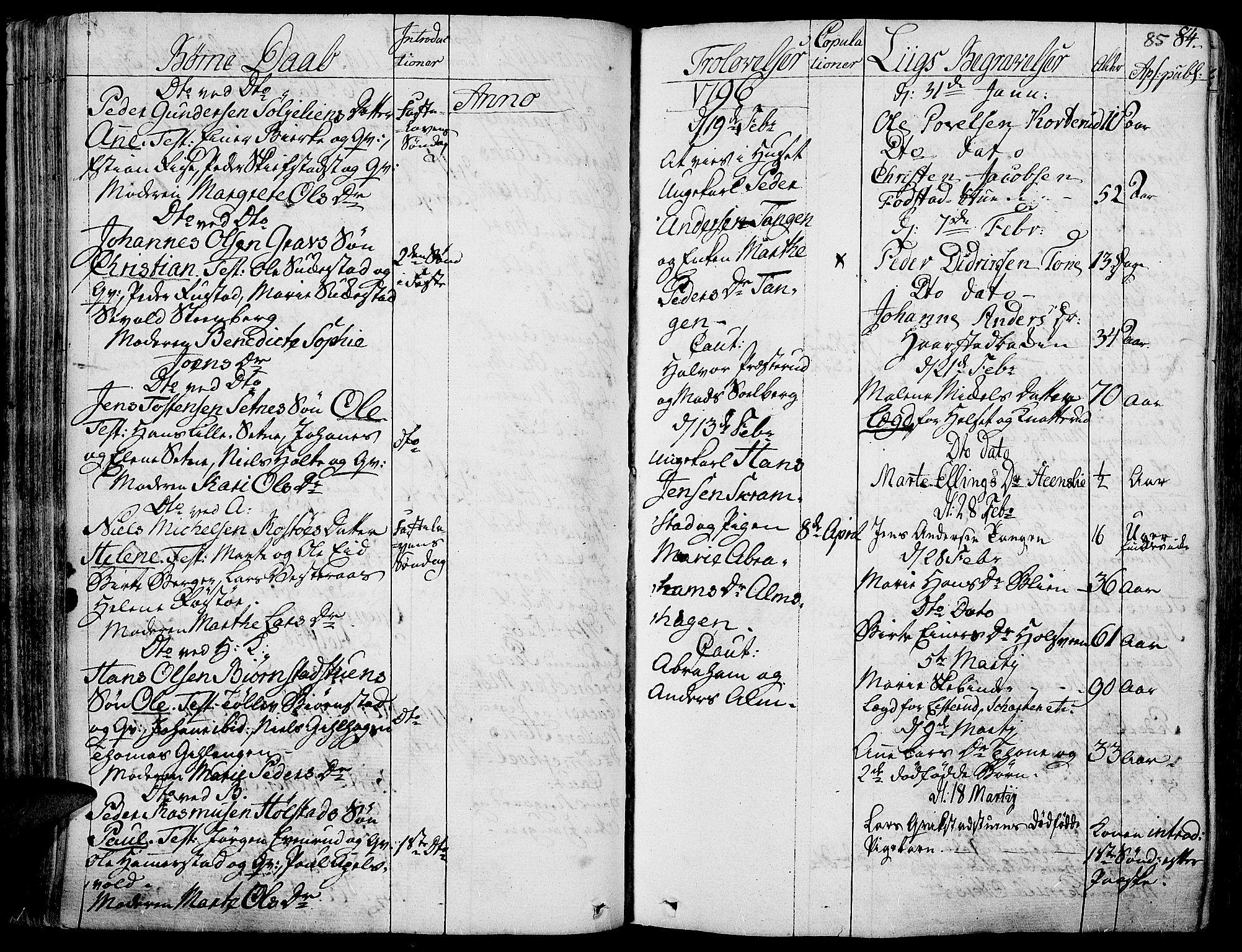 SAH, Toten prestekontor, Ministerialbok nr. 7, 1794-1809, s. 85
