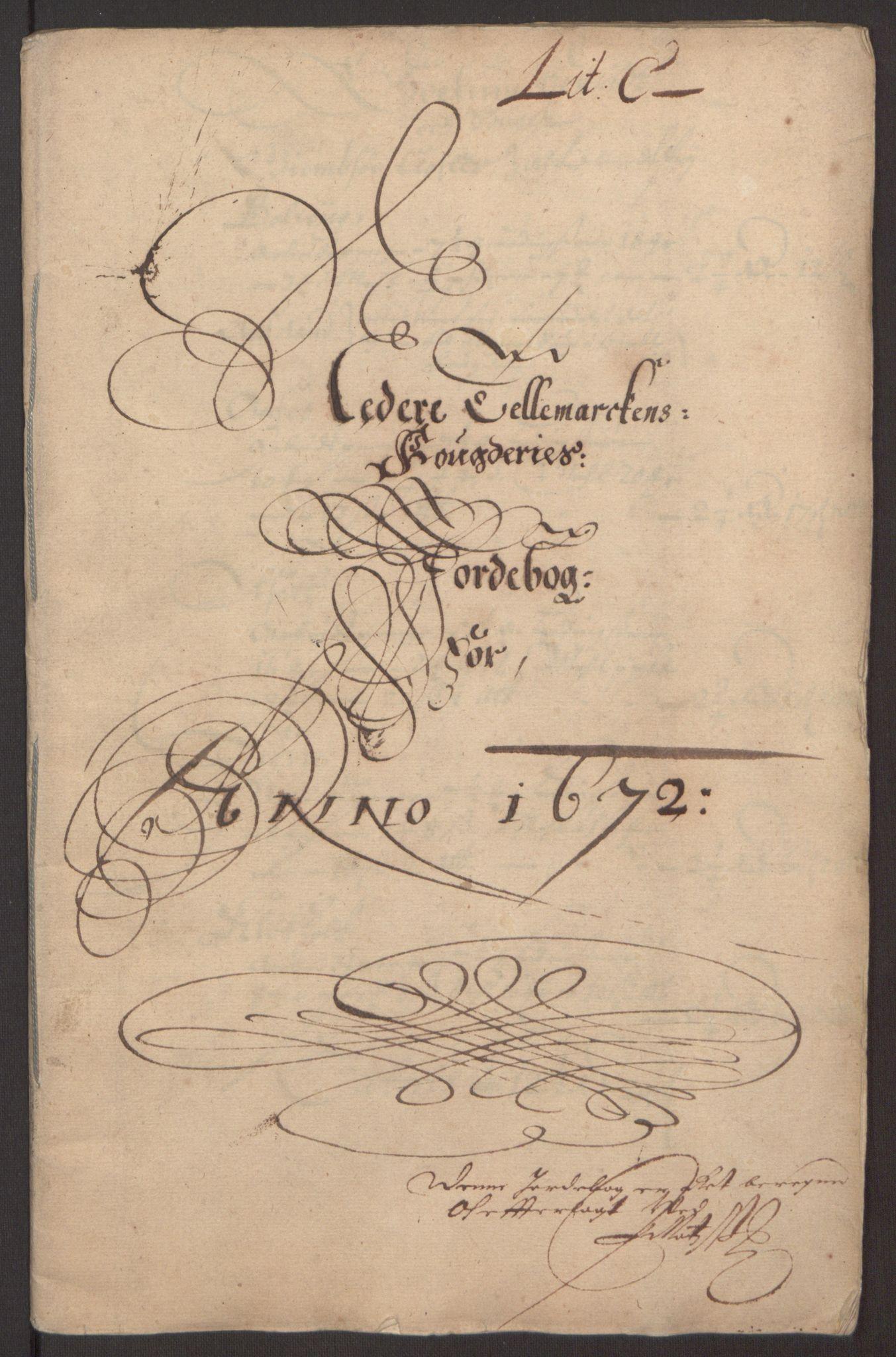 RA, Rentekammeret inntil 1814, Reviderte regnskaper, Fogderegnskap, R35/L2060: Fogderegnskap Øvre og Nedre Telemark, 1671-1672, s. 284