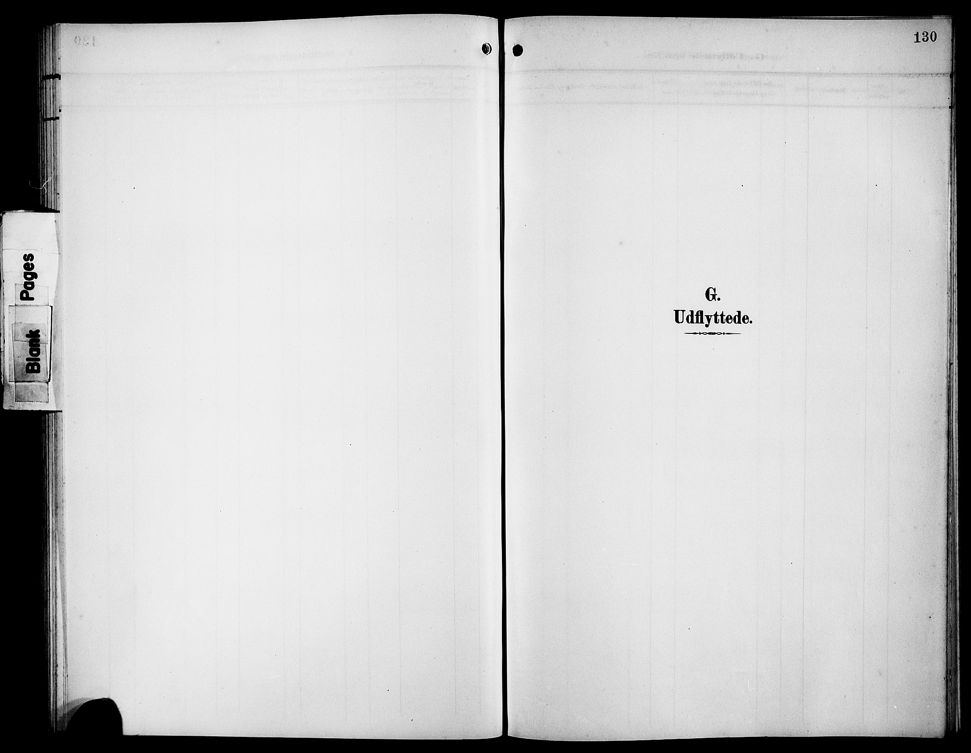 SAB, Bremanger Sokneprestembete, H/Hab: Klokkerbok nr. B 1, 1906-1925, s. 130