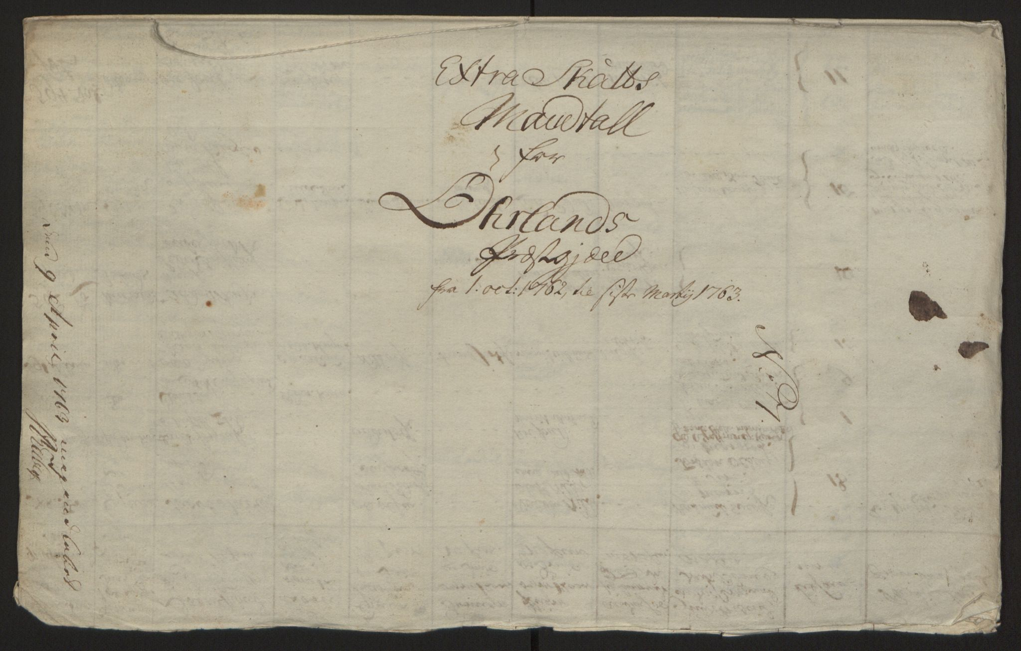 RA, Rentekammeret inntil 1814, Reviderte regnskaper, Fogderegnskap, R57/L3930: Ekstraskatten Fosen, 1762-1763, s. 217