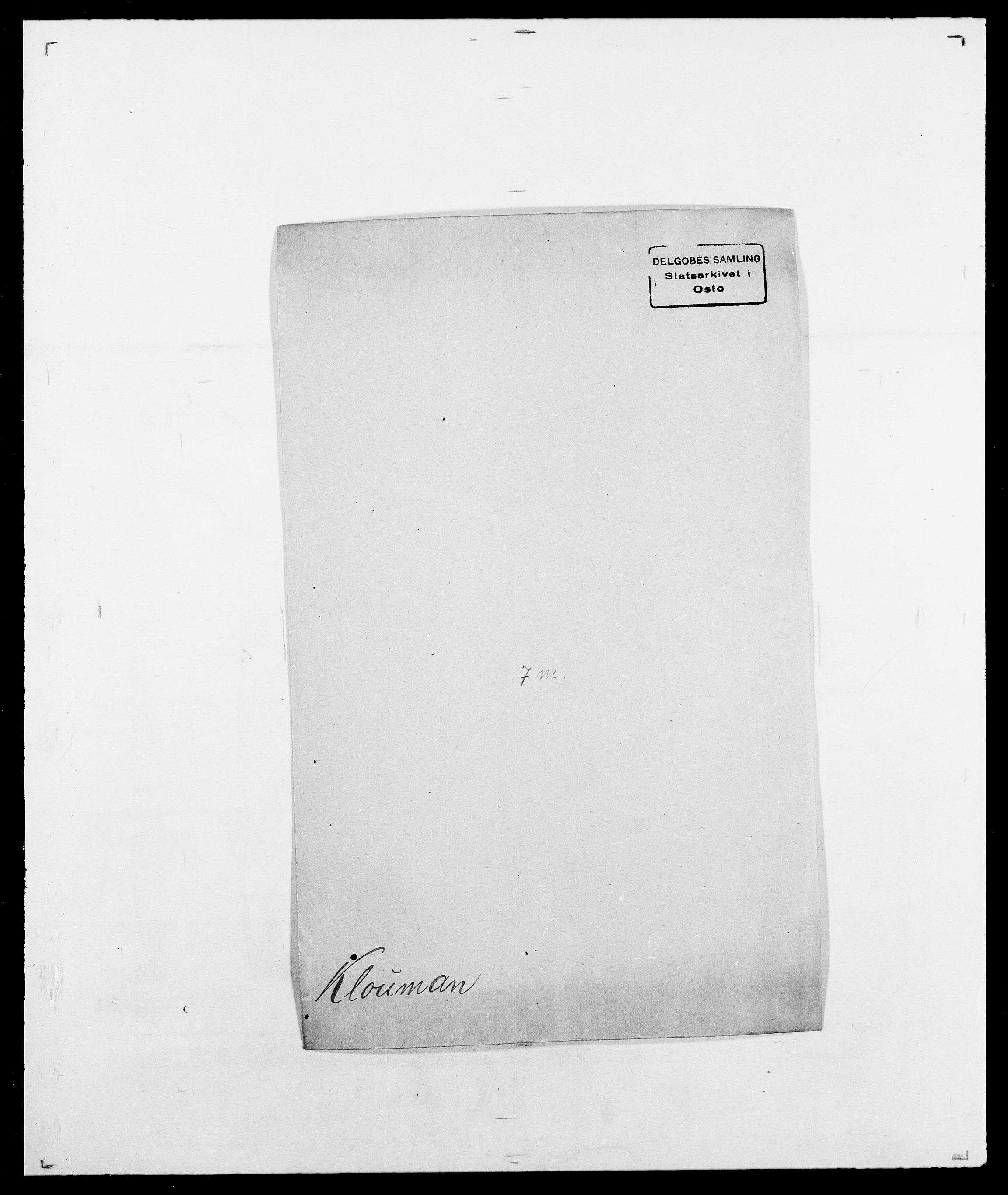 SAO, Delgobe, Charles Antoine - samling, D/Da/L0021: Klagenberg - Kristoft, s. 151