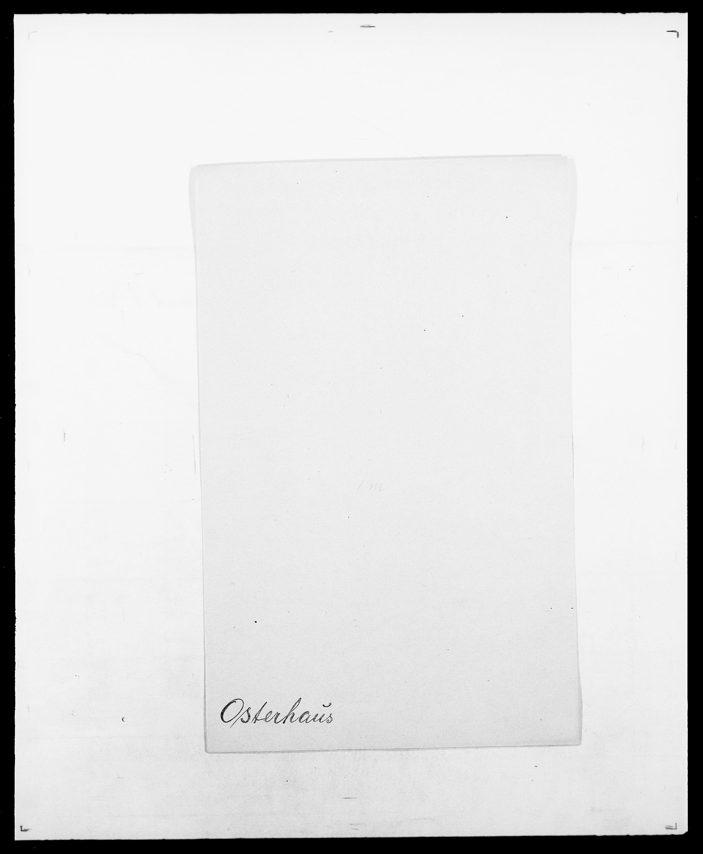 SAO, Delgobe, Charles Antoine - samling, D/Da/L0029: Obel - Oxholm, s. 455
