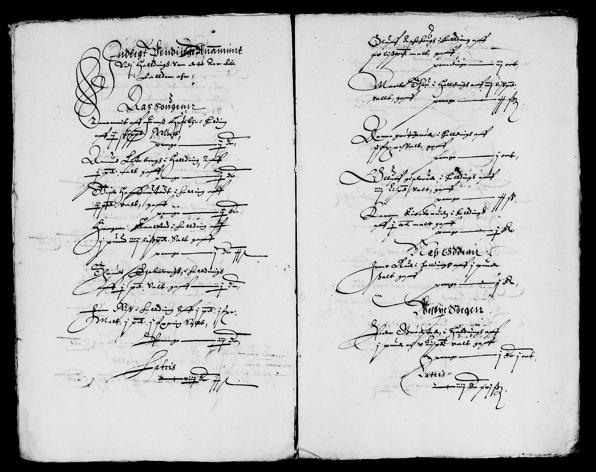 RA, Rentekammeret inntil 1814, Reviderte regnskaper, Lensregnskaper, R/Rb/Rba/L0086: Akershus len, 1627-1629