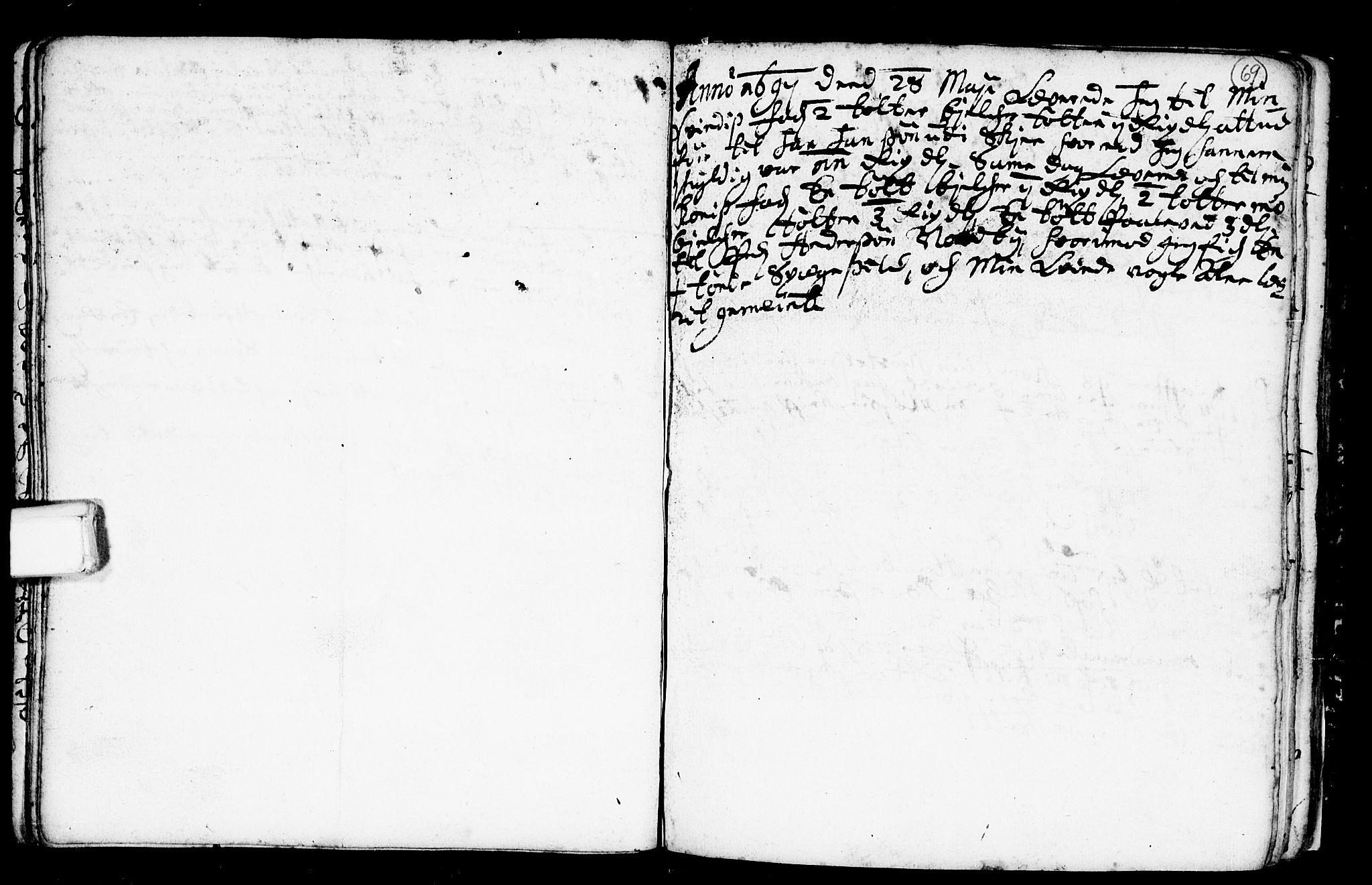 SAKO, Heddal kirkebøker, F/Fa/L0001: Ministerialbok nr. I 1, 1648-1699, s. 69